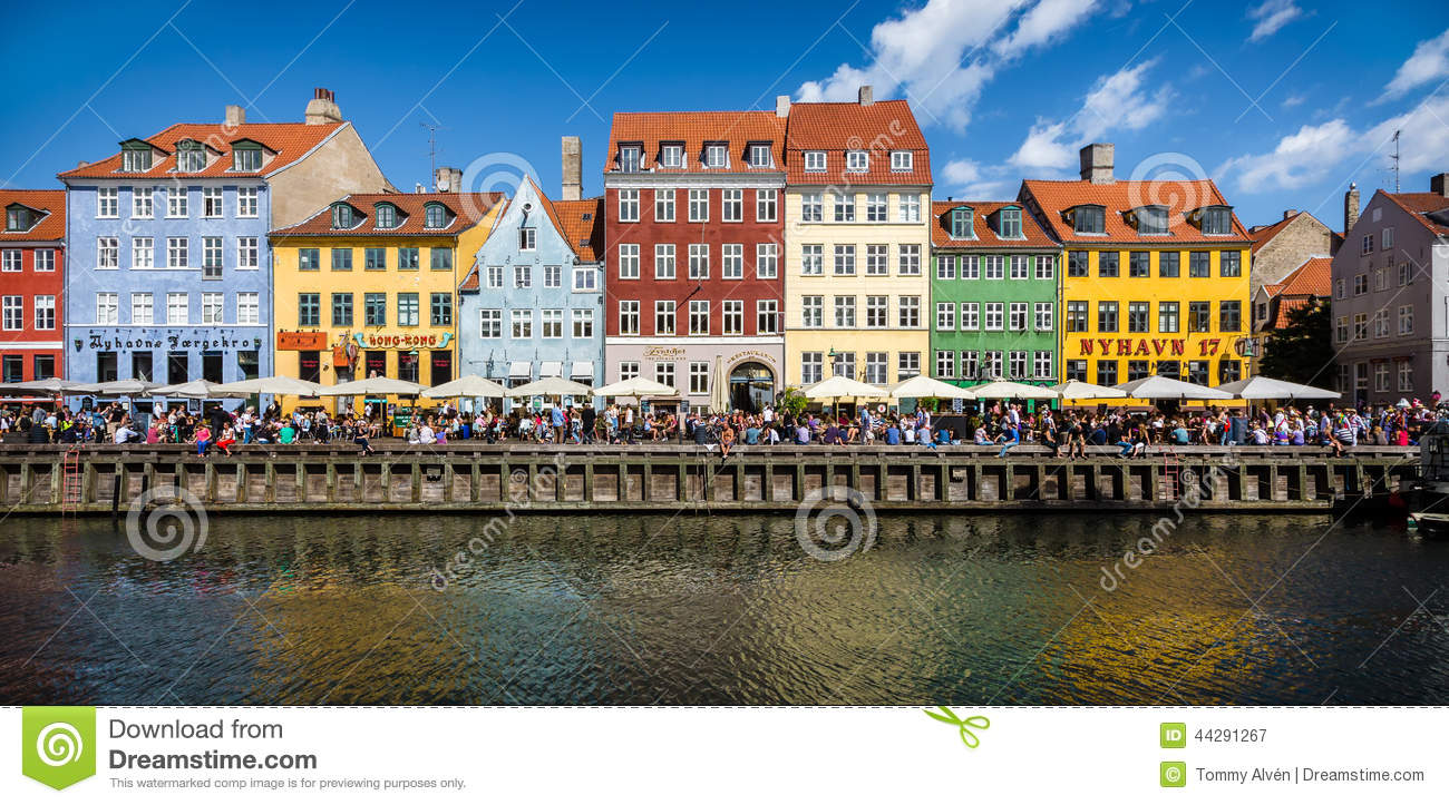 Nyhavn, Copenhagen Editorial Photography - Image: 44291267