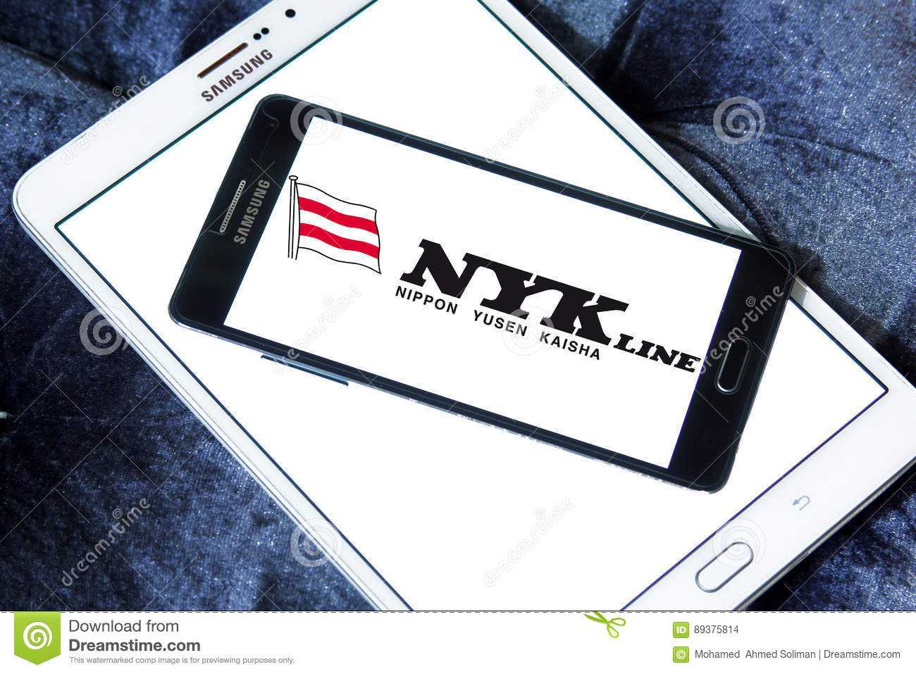 Nyk Line Container Shipping Logo Editorial Stock Image