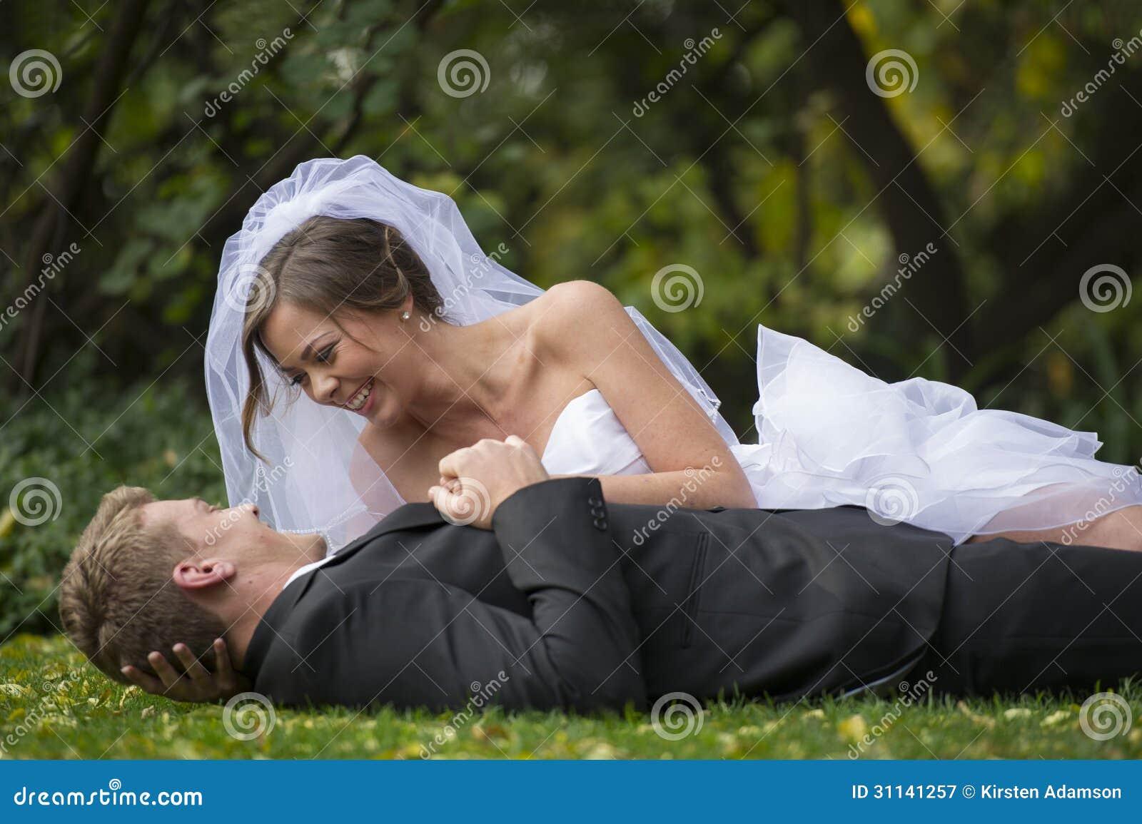 Nyligen gift par