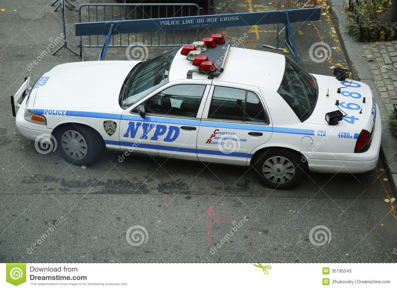 nypd car providing security in world trade center area of manhattan editorial stock photo. Black Bedroom Furniture Sets. Home Design Ideas