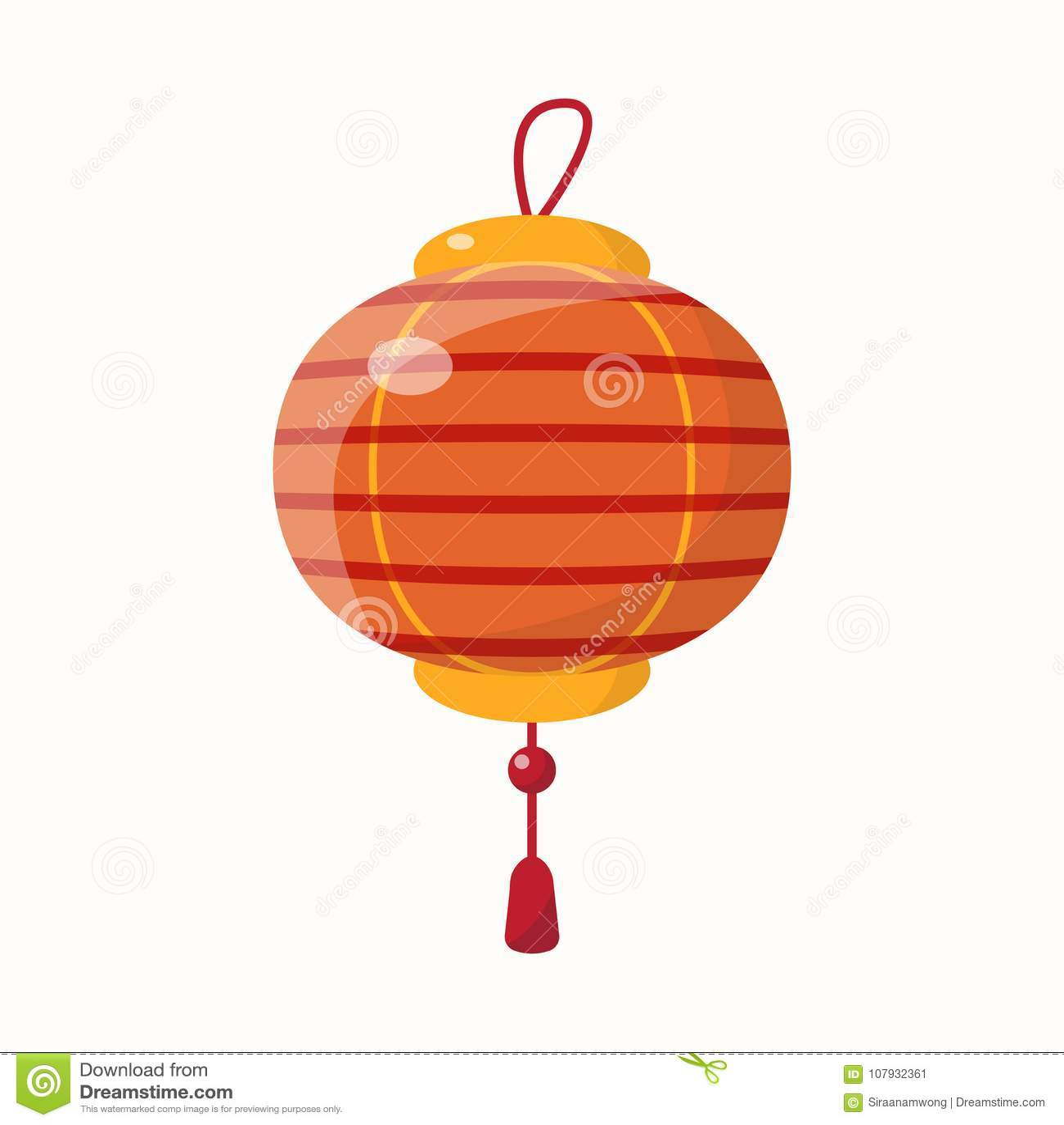 Nytt år för kinesisk lykta