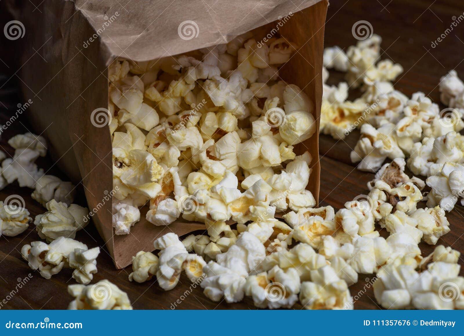 Nytt popcorn- och papperspaket