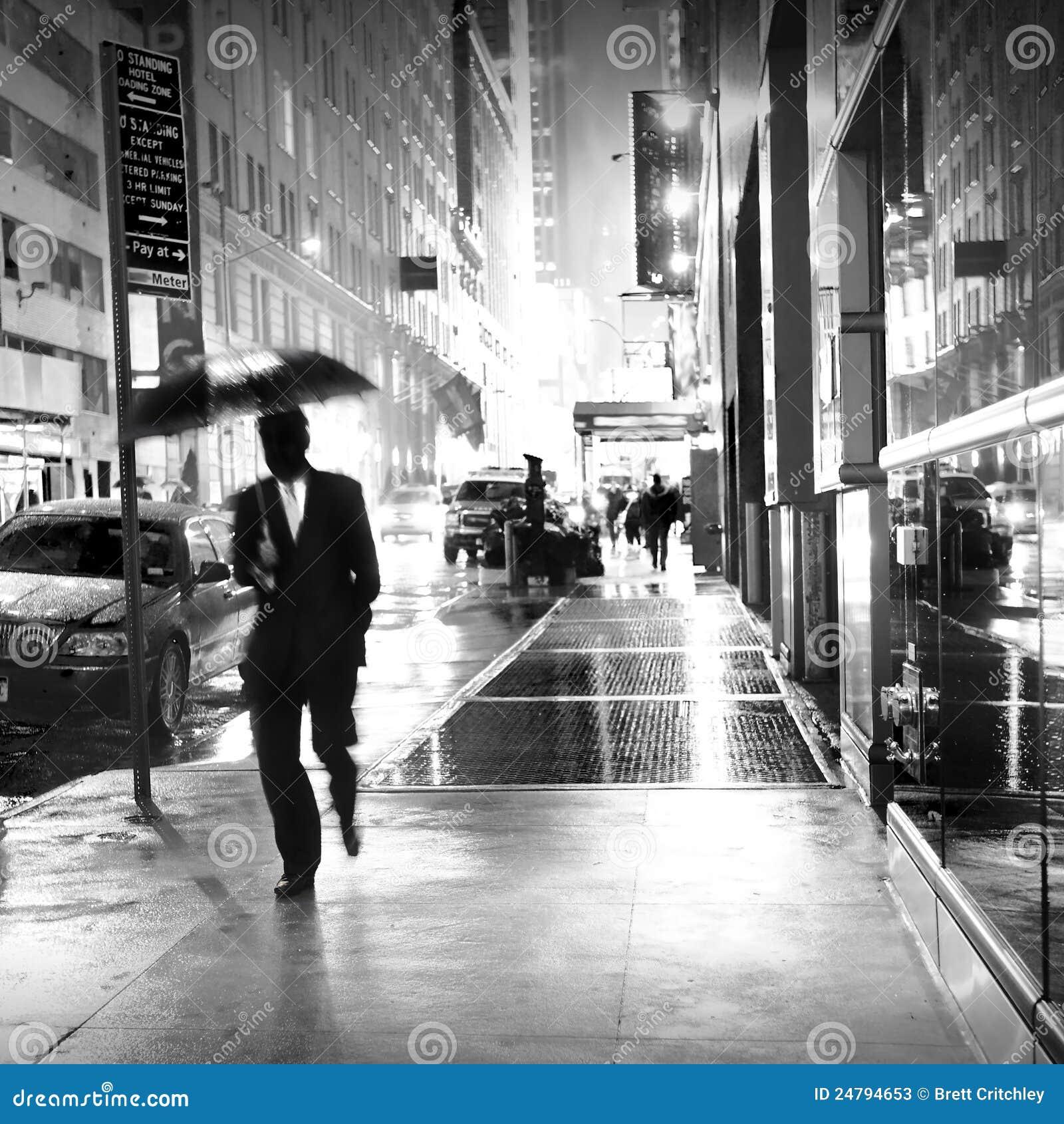 Nytt regn york för stad