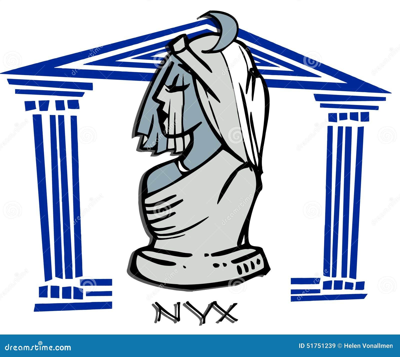 Nyx Stock Illustrations 9 Nyx Stock Illustrations Vectors