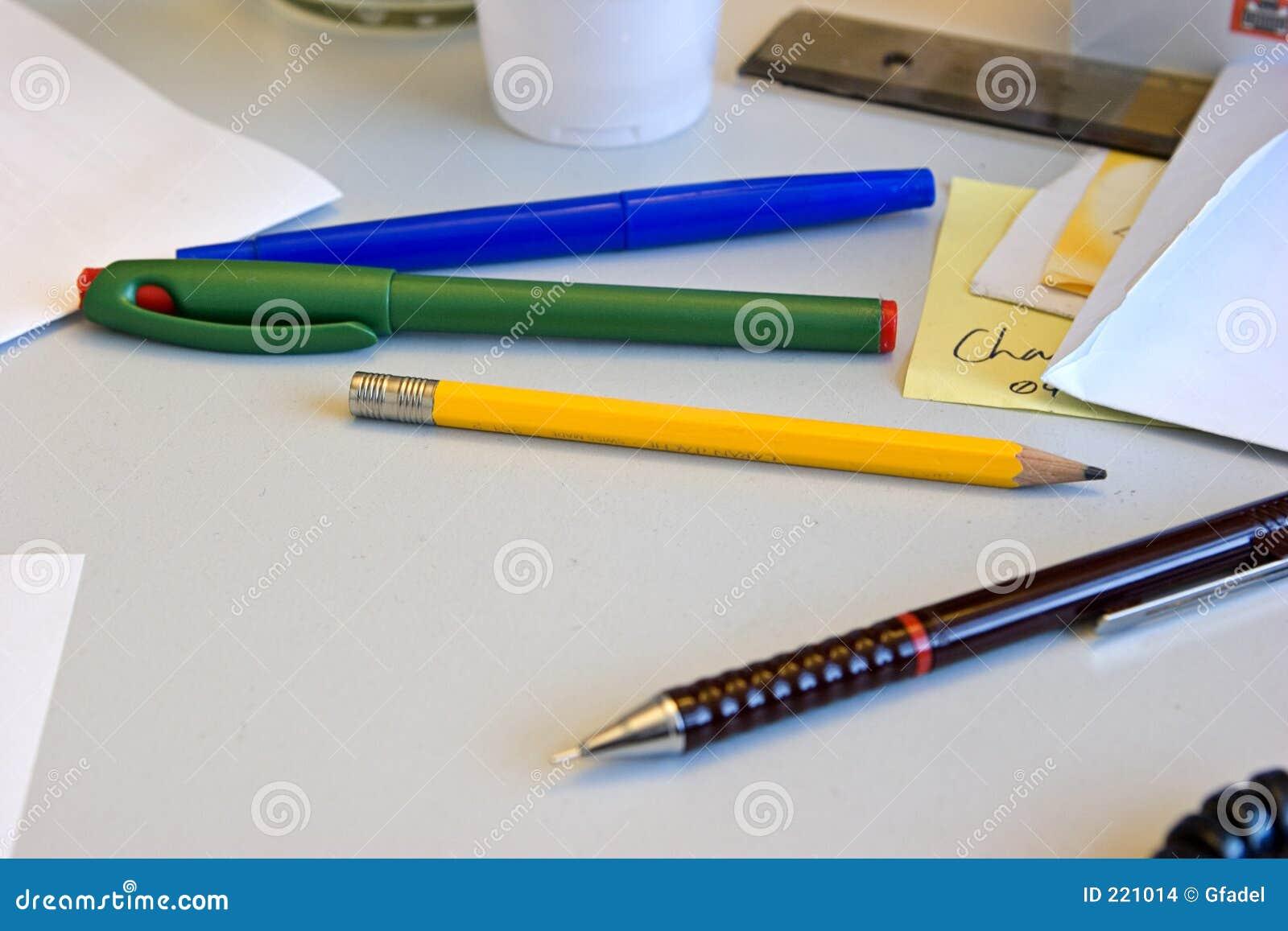 Ołówków pióra
