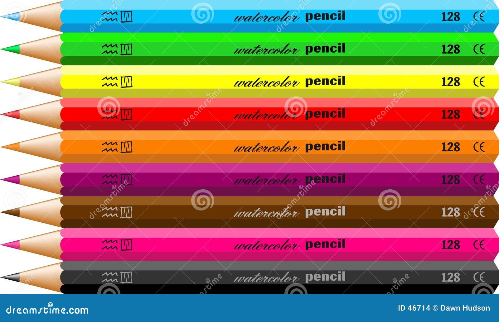 Ołówka watercolour
