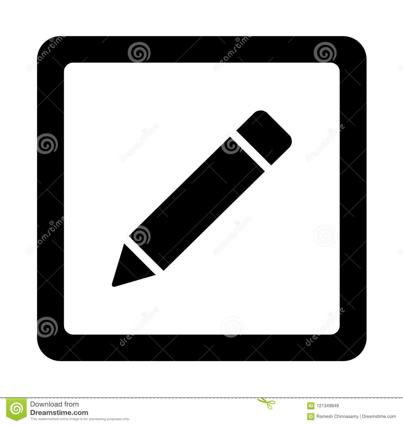 Ołówkowa ikona