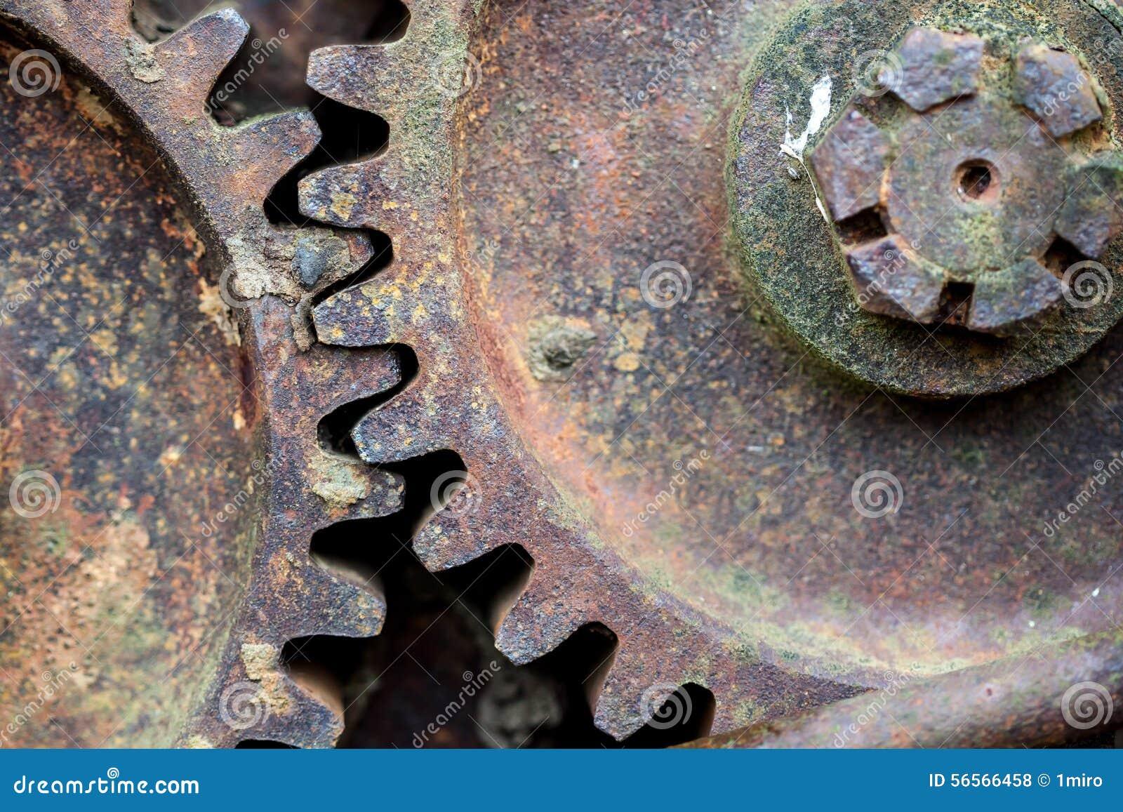 Ośniedziały żelazny koło