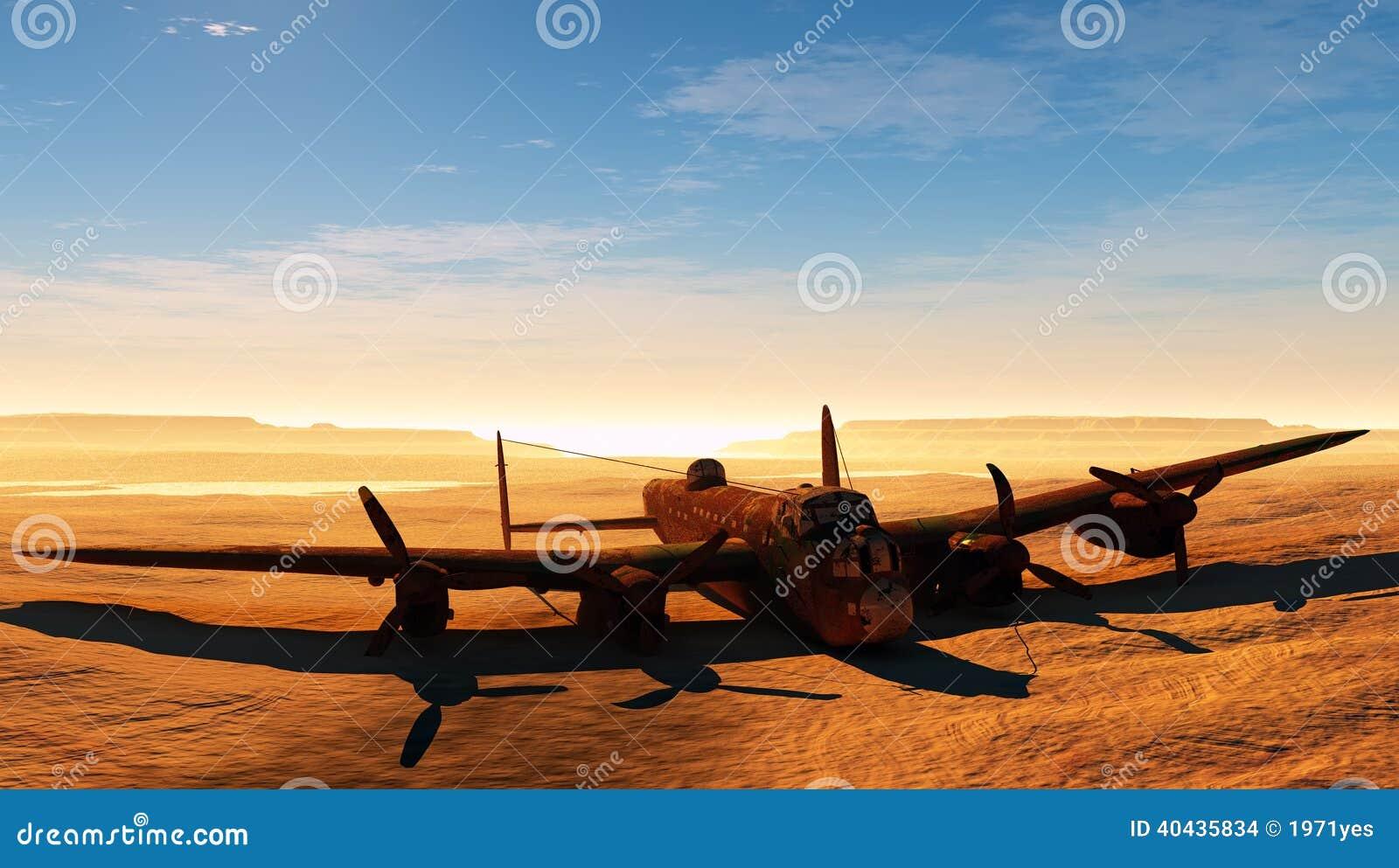 Ośniedziały samolot