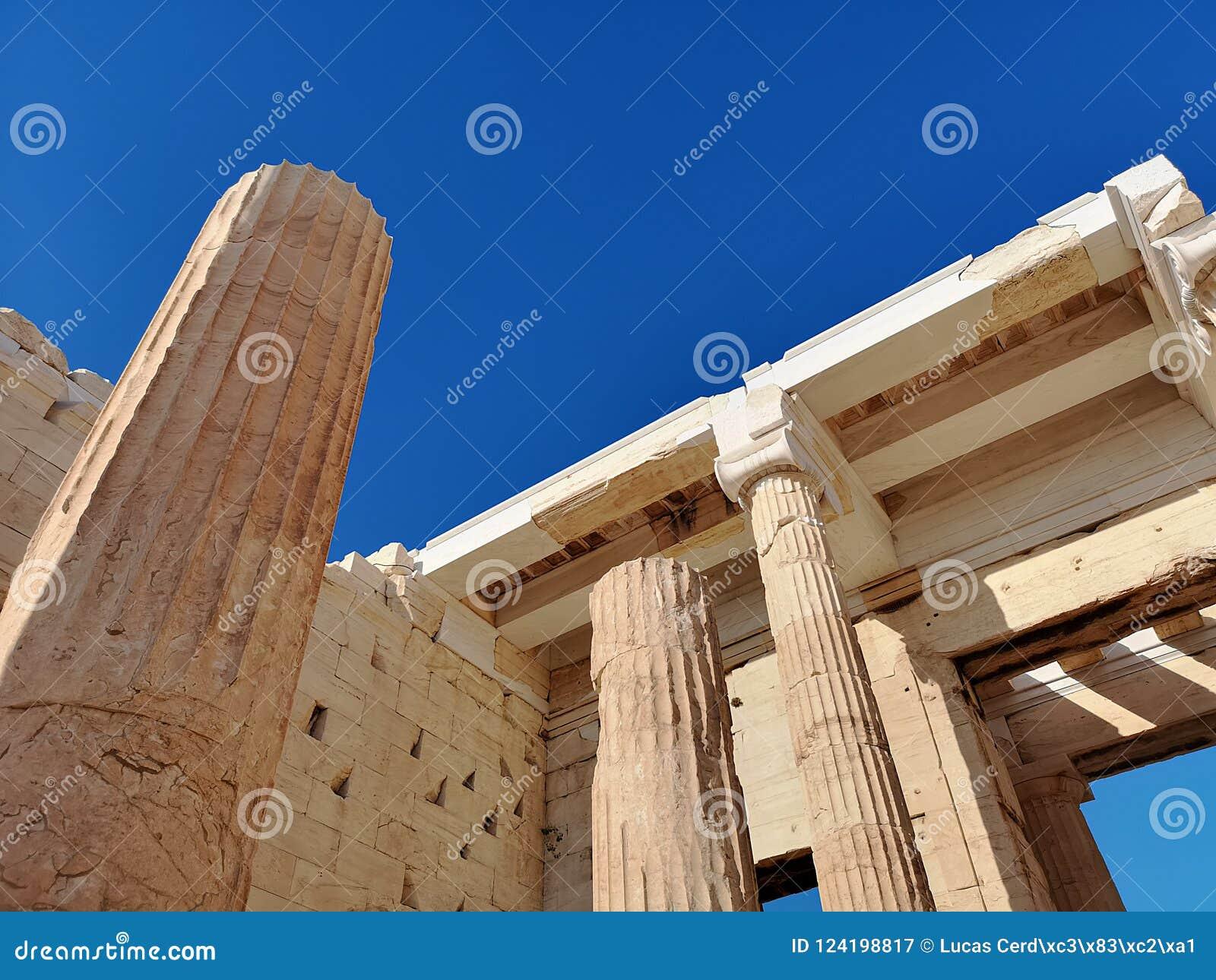O Acropolis de Atenas, Greece