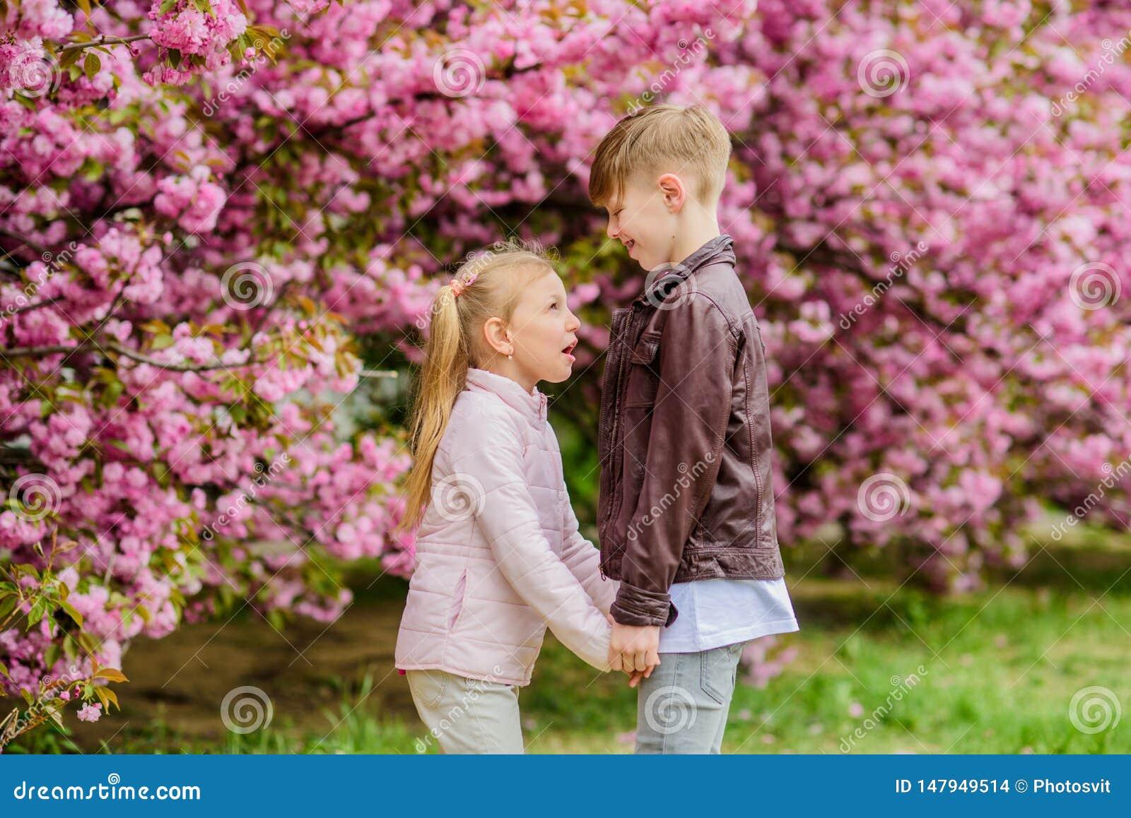 O amor est? no ar Sentimentos macios do amor Mi?dos felizes Data rom?ntica no parque Tempo de mola cair no amor Mi?dos
