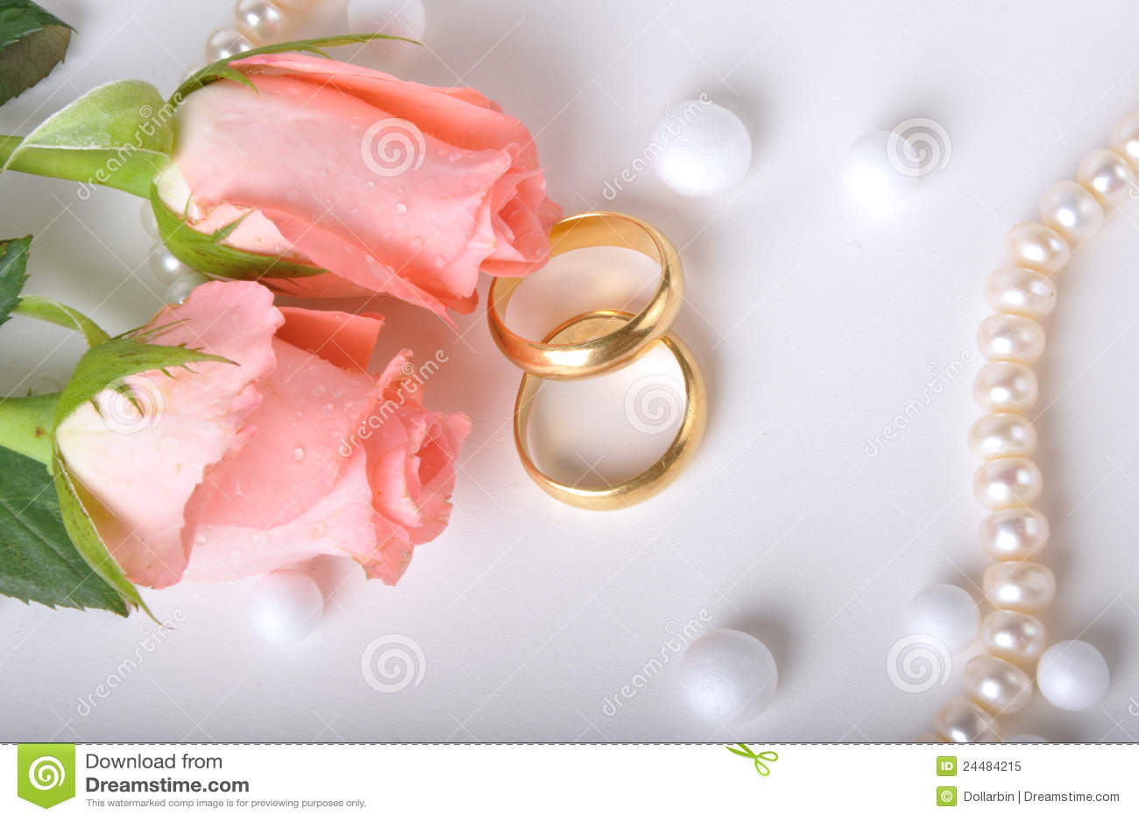 O anel de casamento & levantou-se