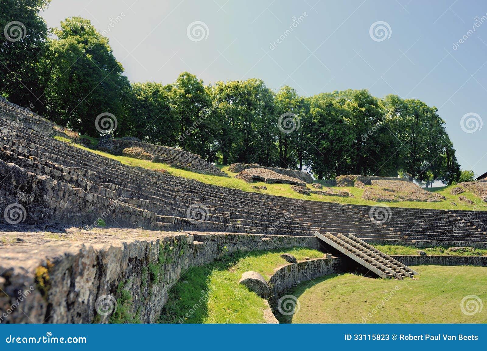 O anfiteatro de Autun