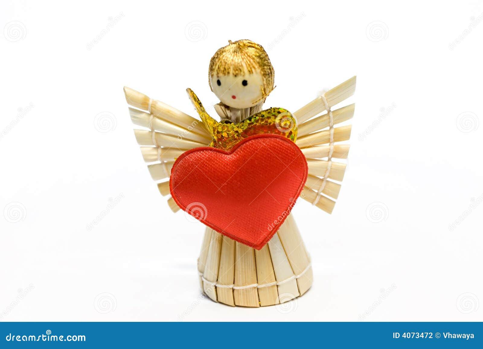 O anjo com coração