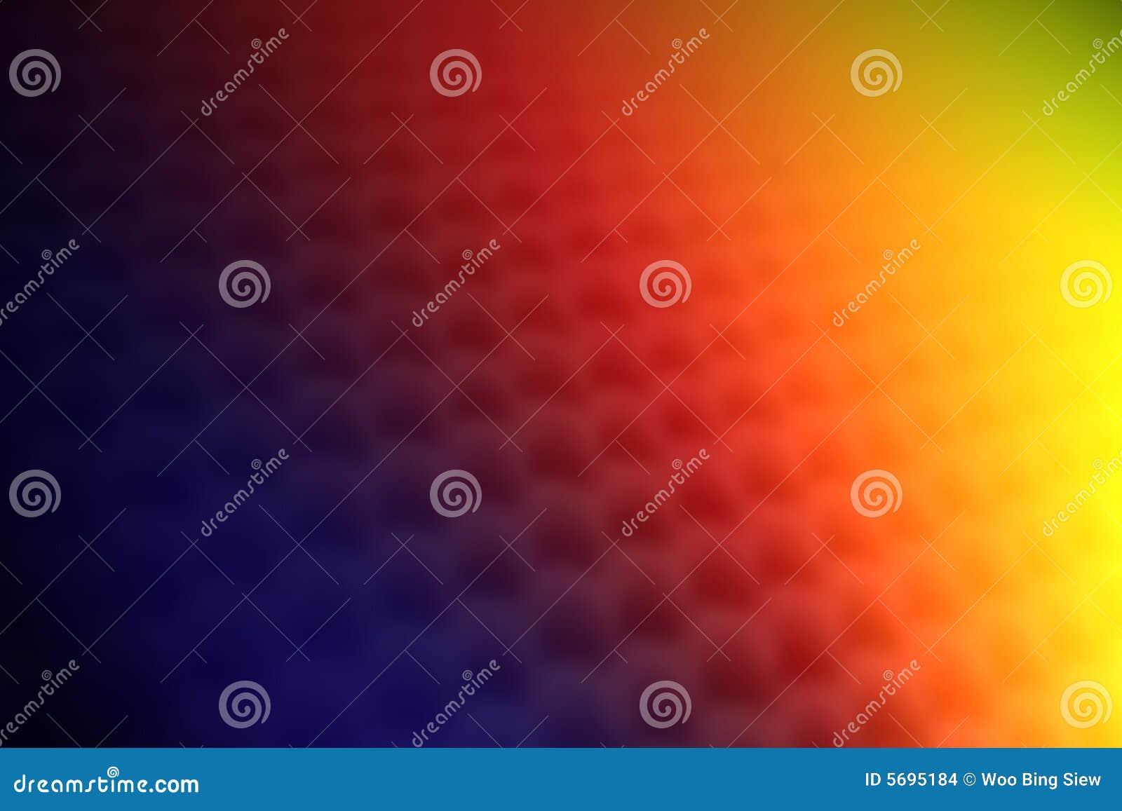 O arco-íris colore o fundo da textura