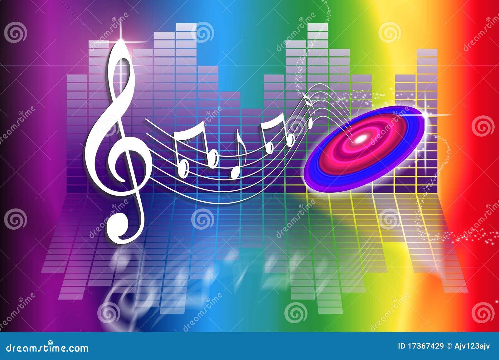 O arco-íris faz a música
