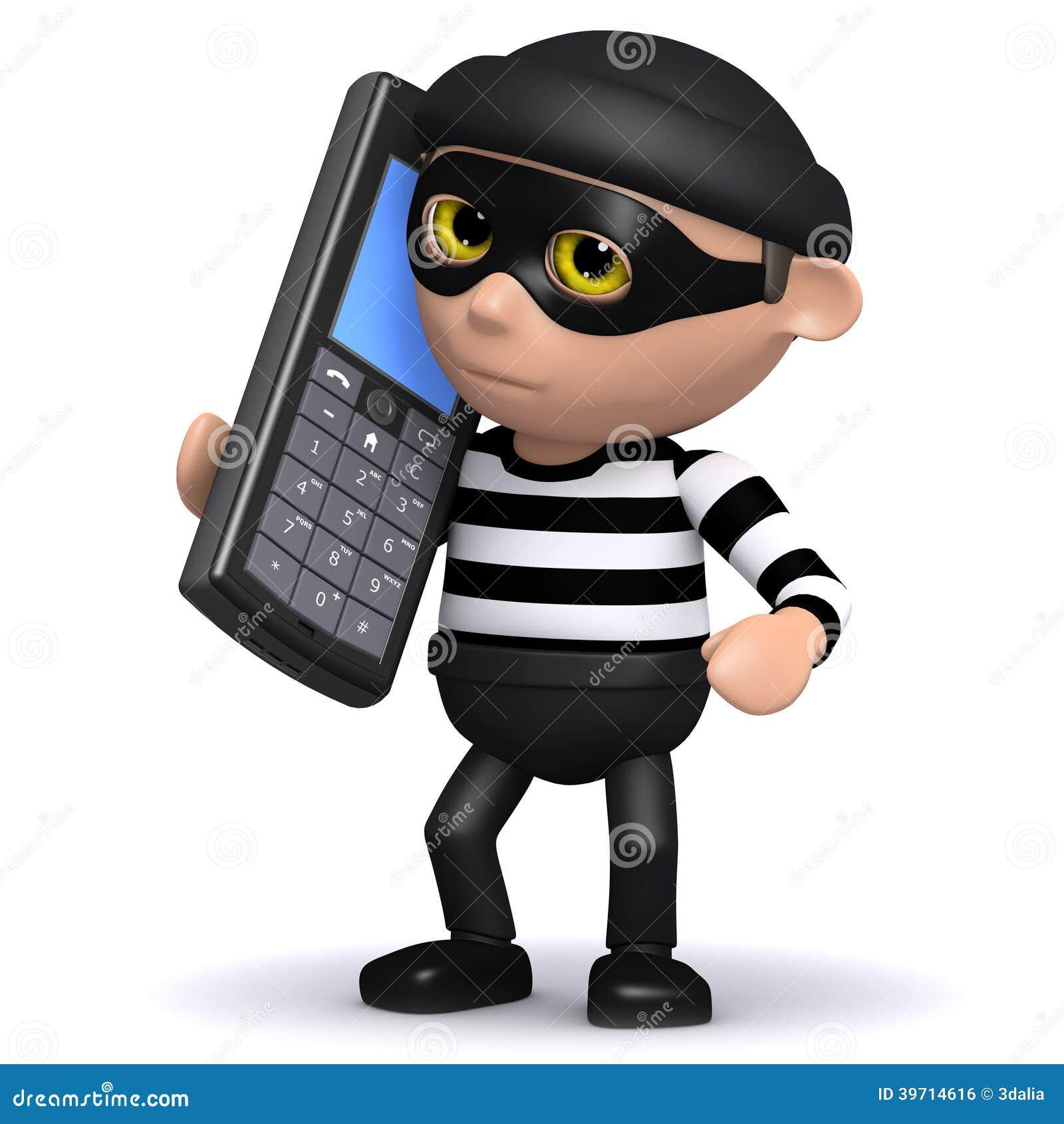 Resultado de imagem para imagem, desenho ladrão de telefone celular