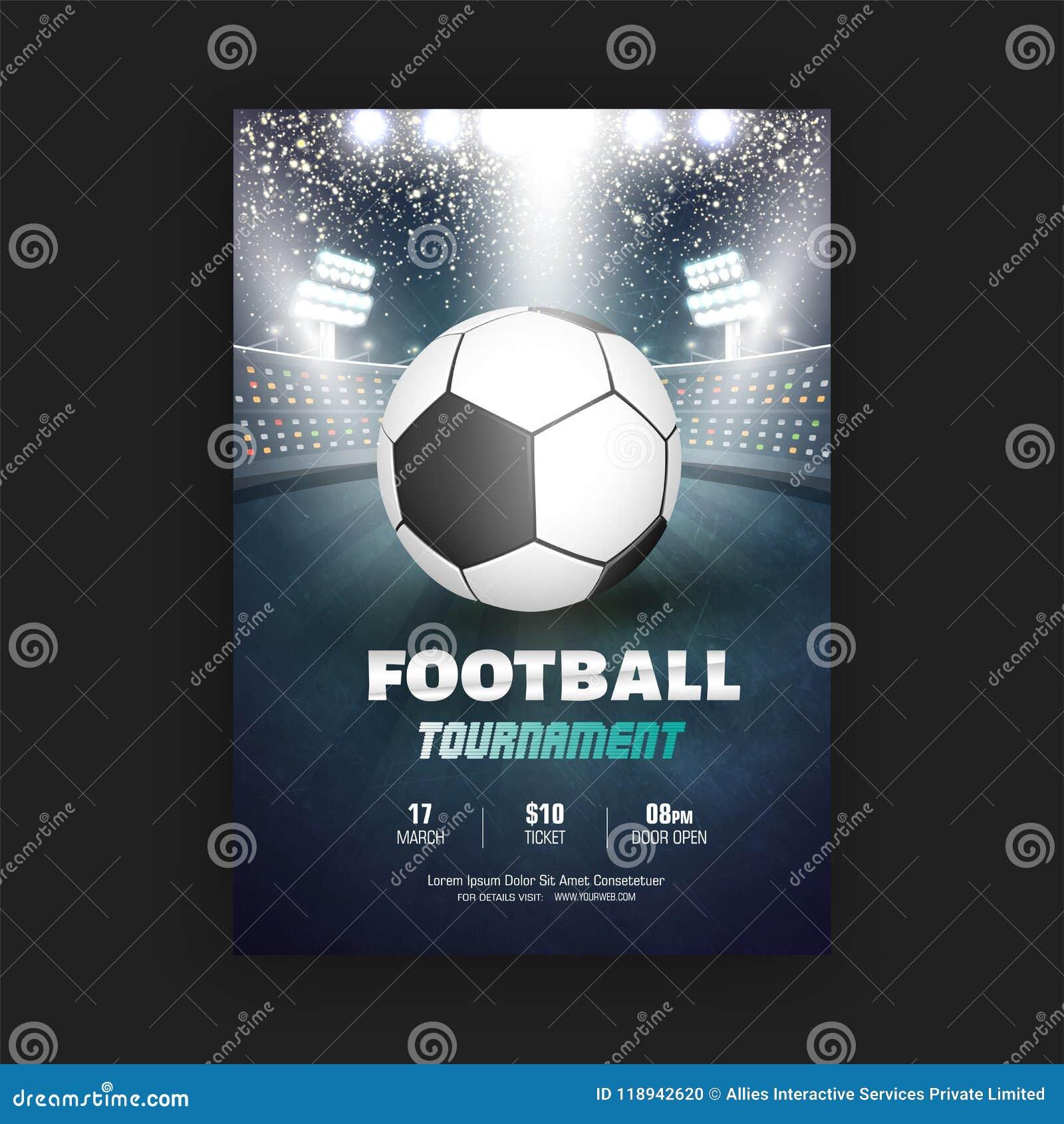O aviador ou a bandeira do competiam do futebol projetam com detalhes do fósforo