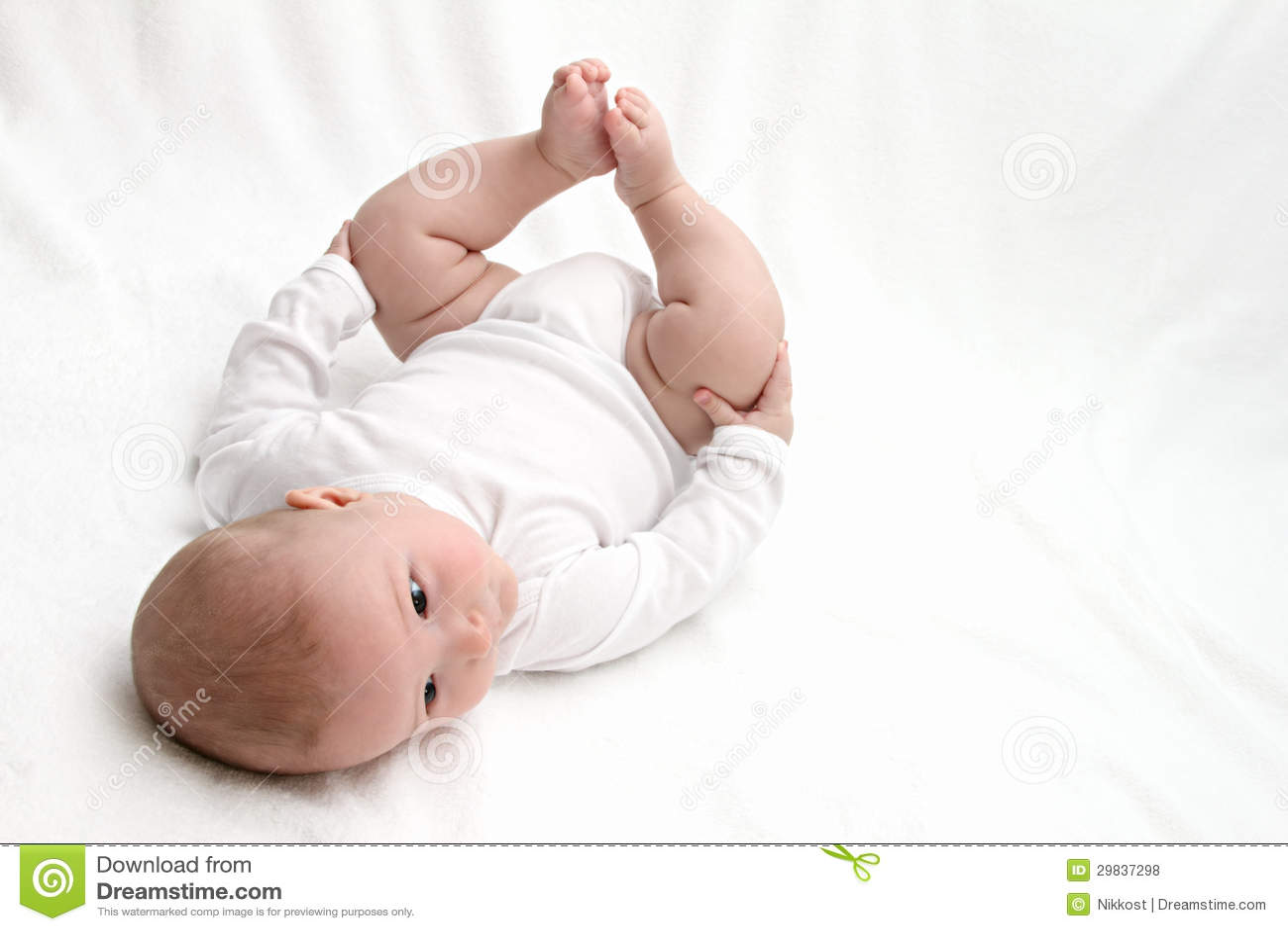 Do bebê parte traseira sobre