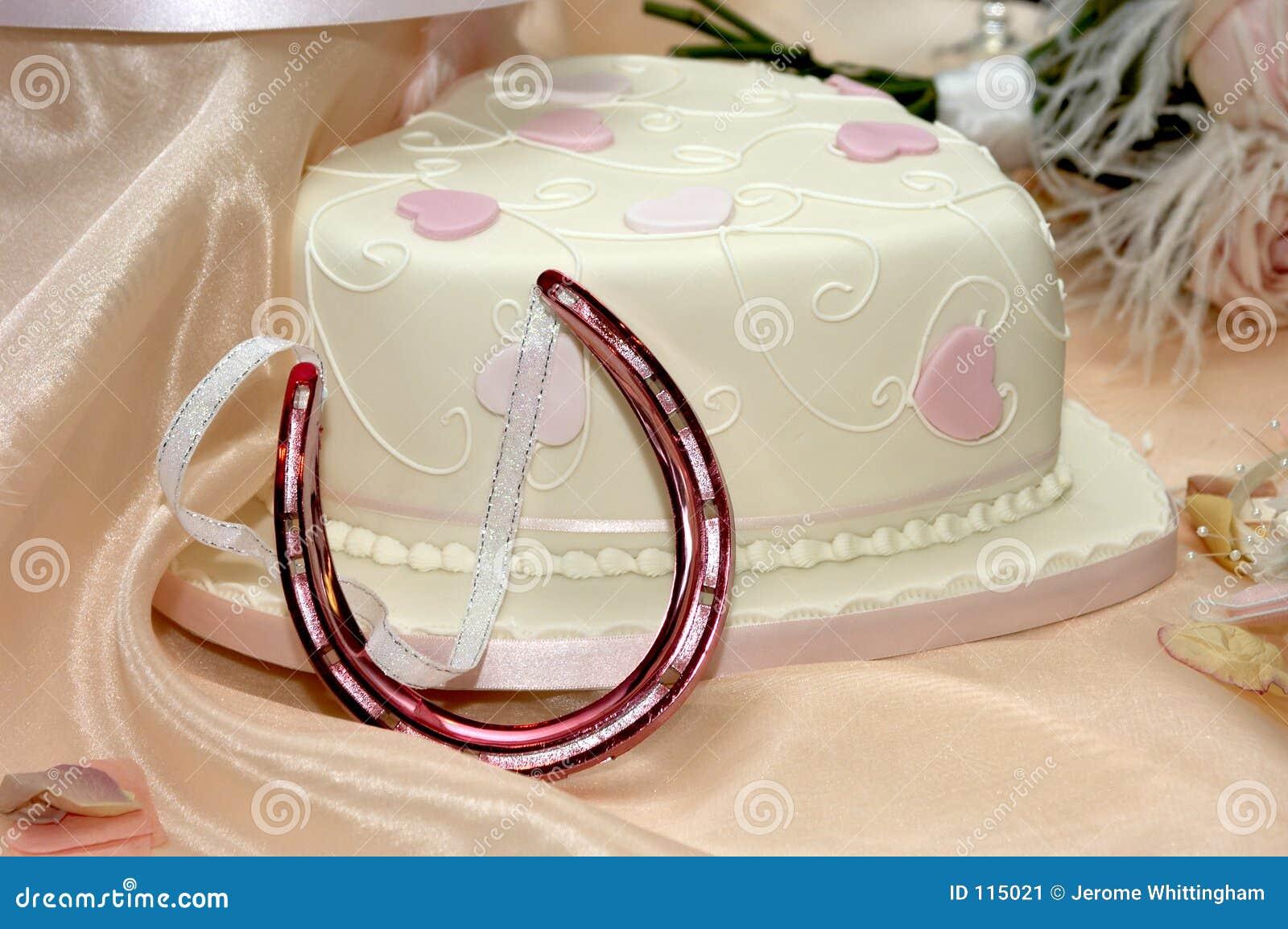 O bolo e o cavalo de casamento calç o encanto