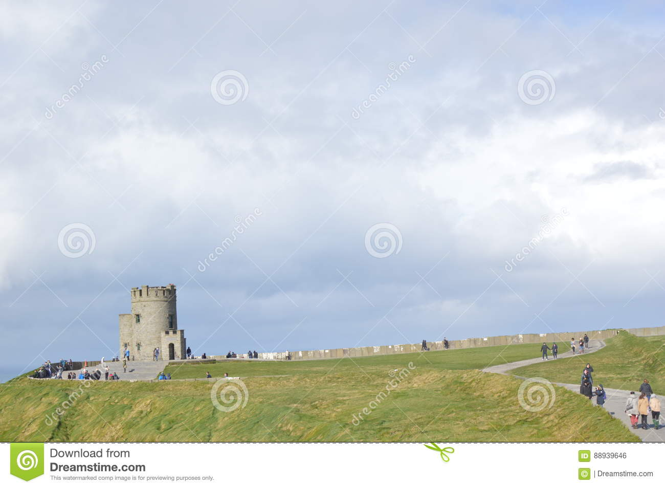 O`Briens Tower, Cliffs Of Moher, Ireland