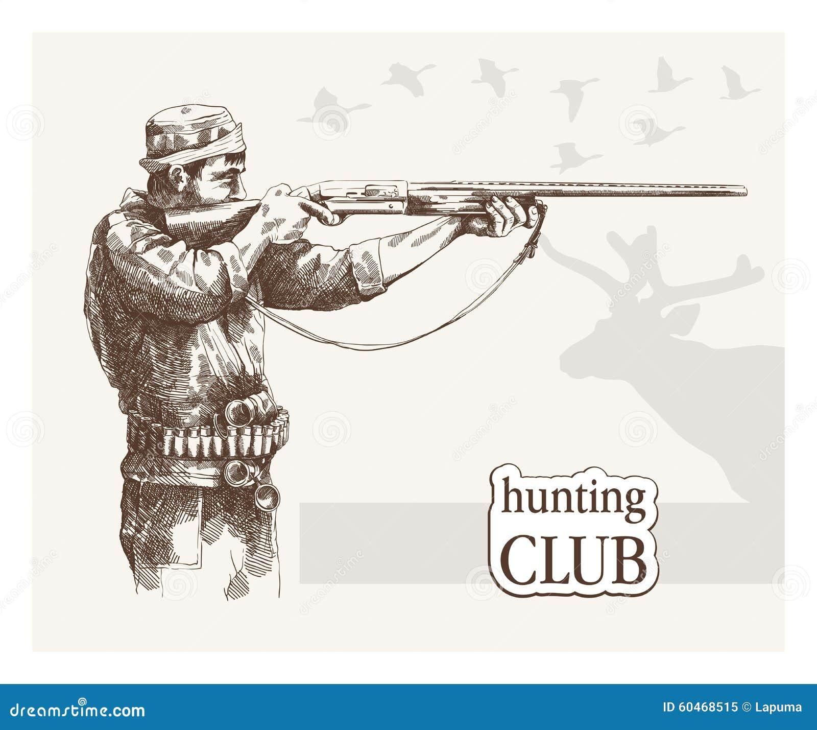 O caçador vê o objetivo