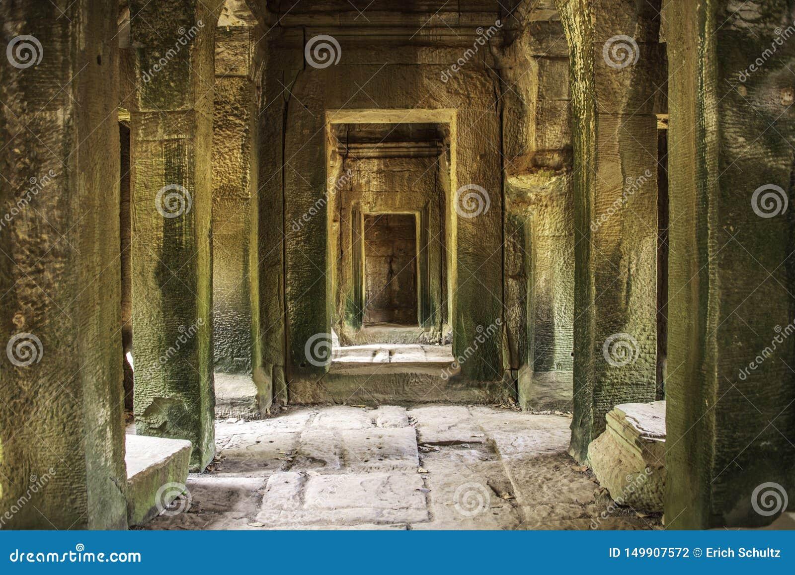 O caminho escondido de Angkor Wat