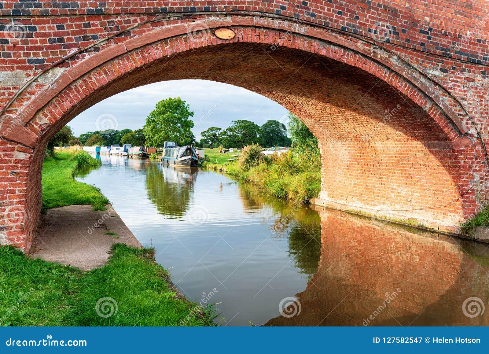 O canal da união de Shropshire