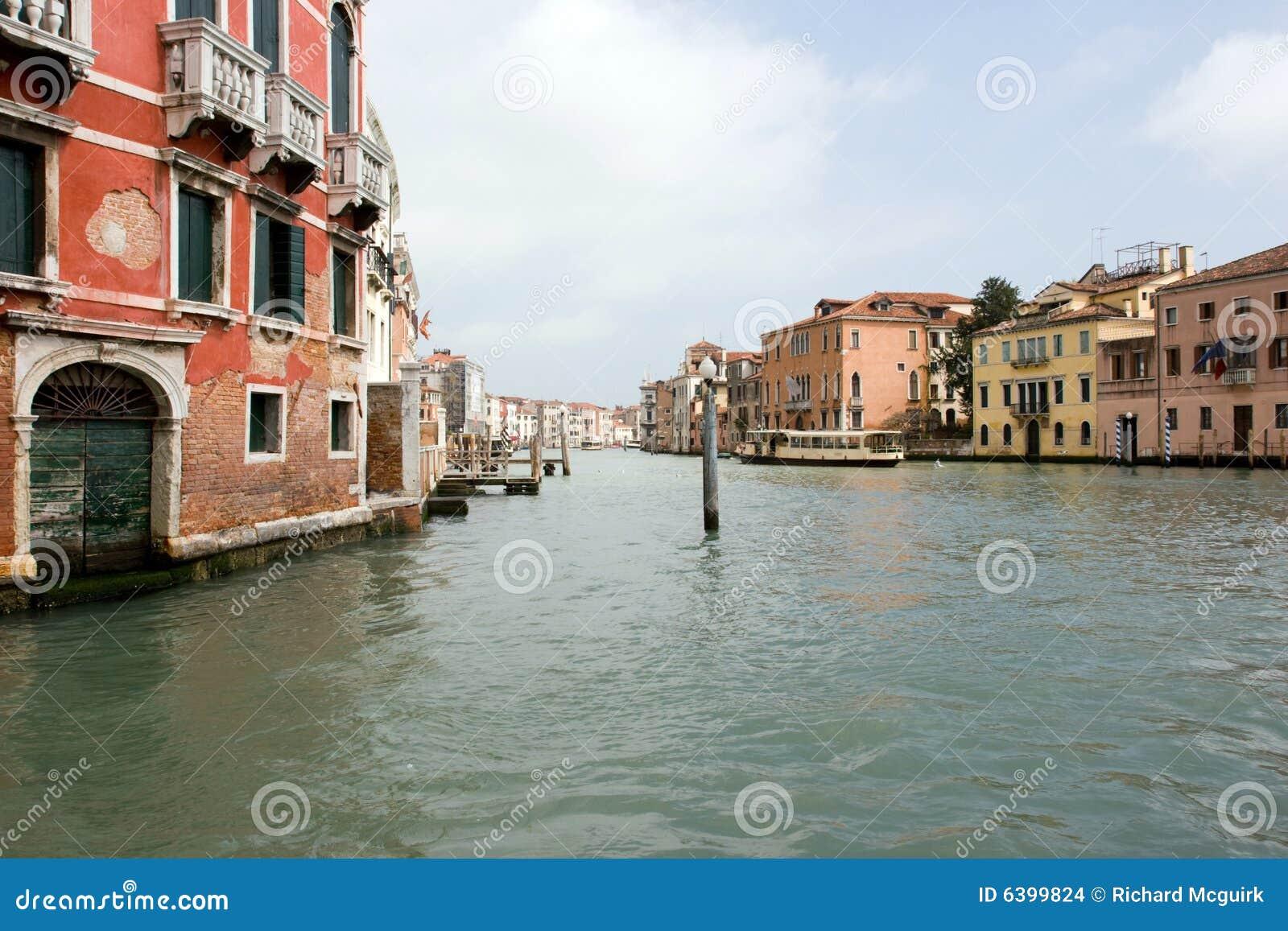 O canal grande, Veneza Italy