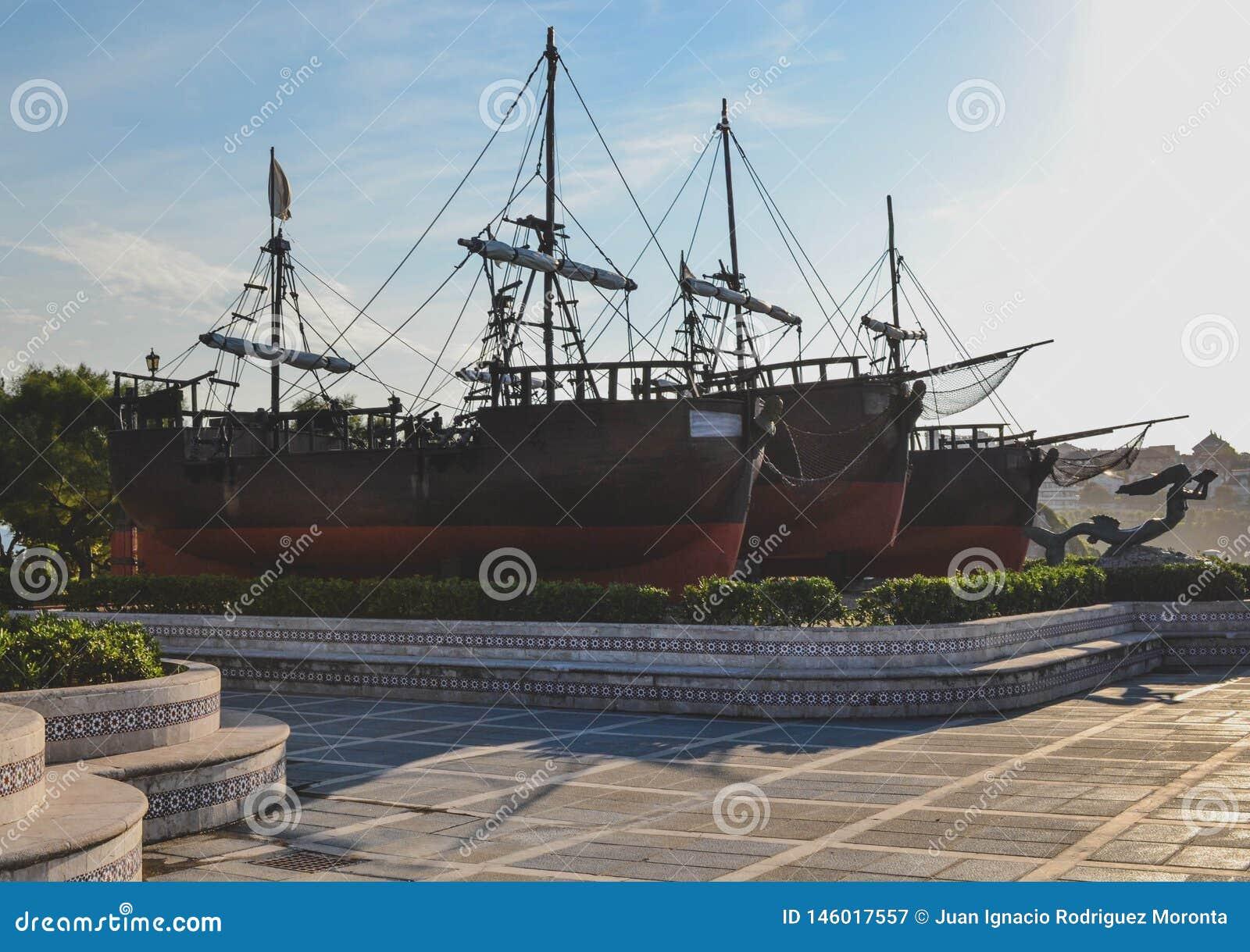 O Caravels de Christopher Columbus