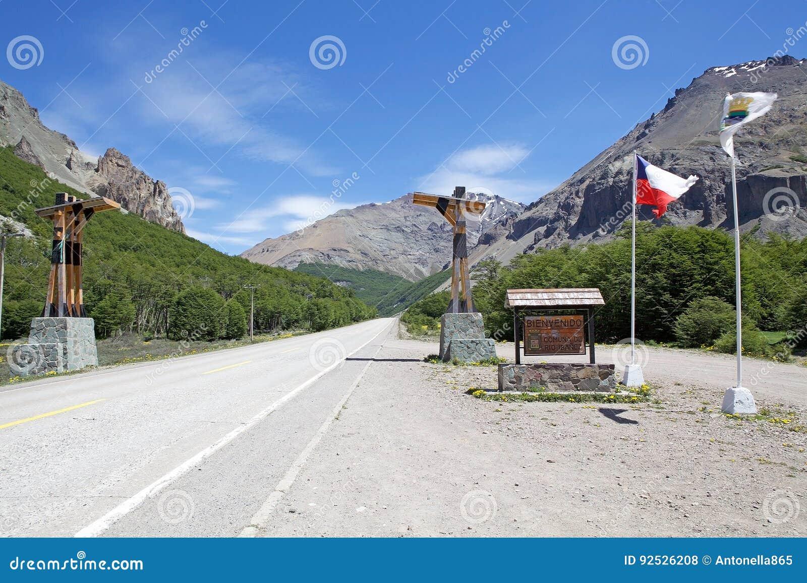 O Carretera Austral, o Chile