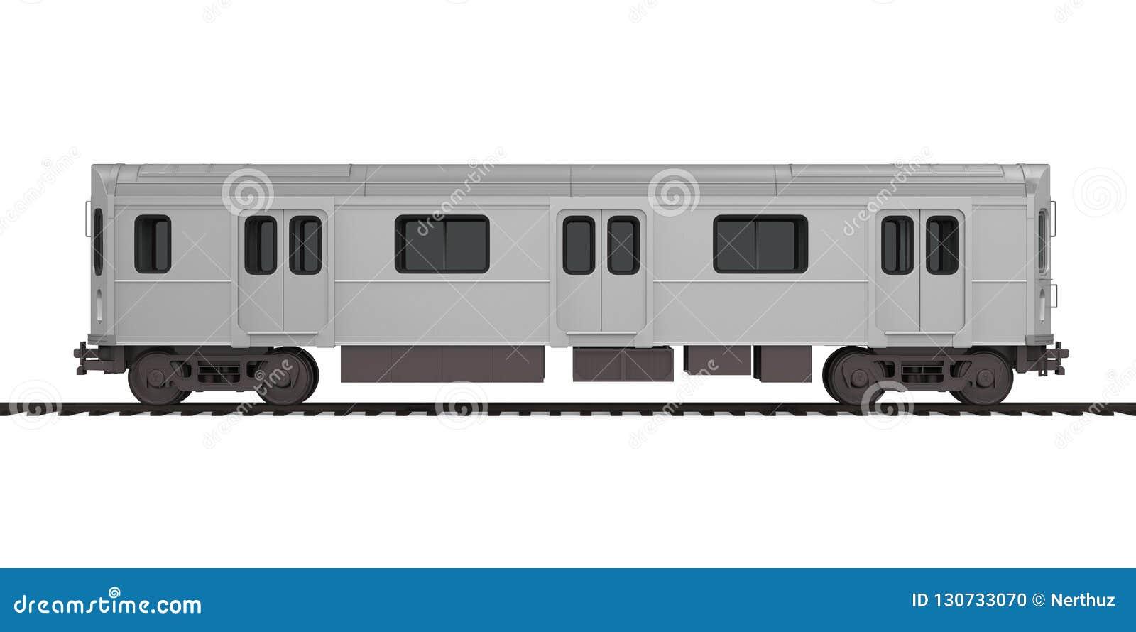 O carro de metro isolou-se