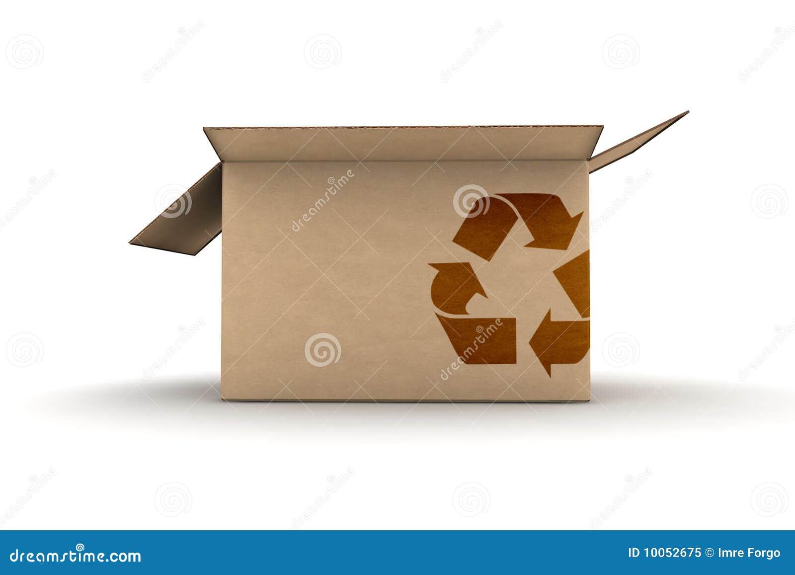O cartão com recicl o símbolo
