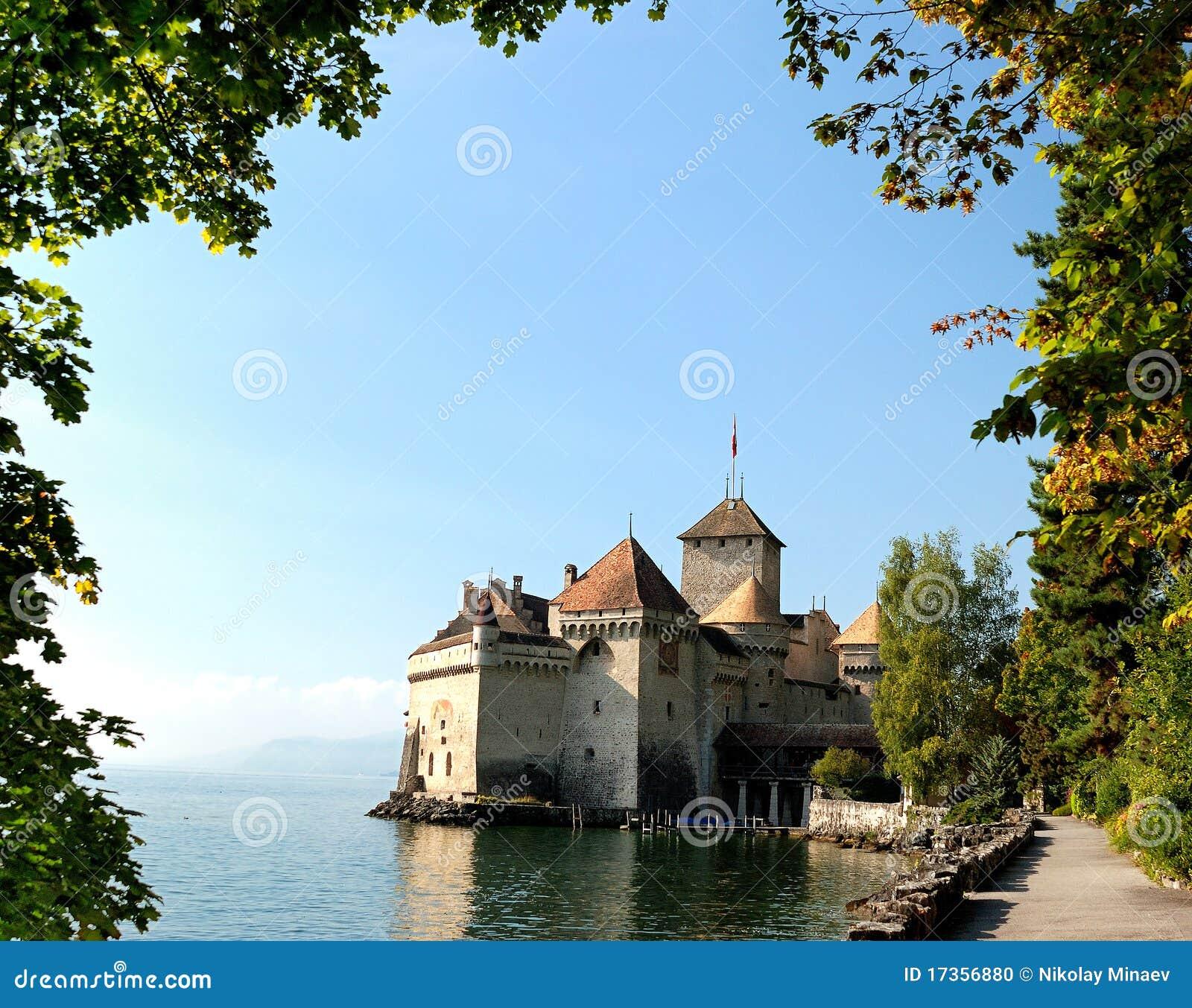 O castelo de Chillon