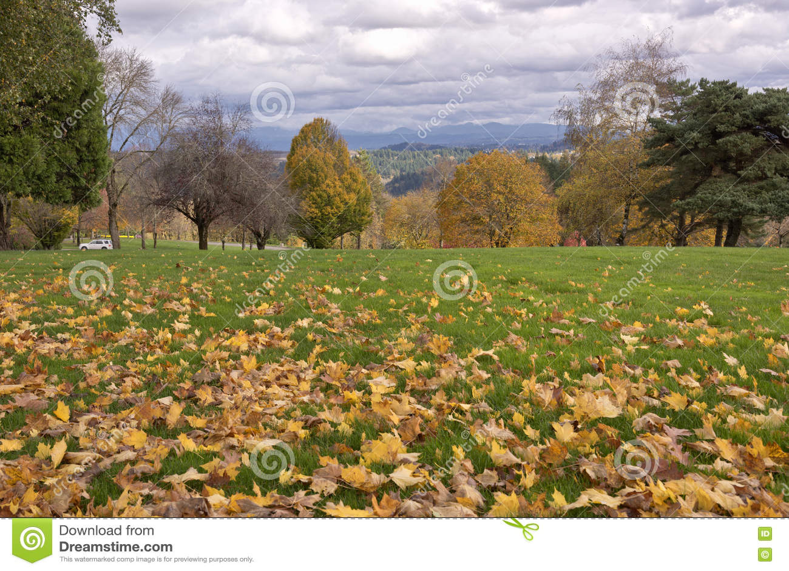 O cemitério nacional de Willamette aterra Oregon