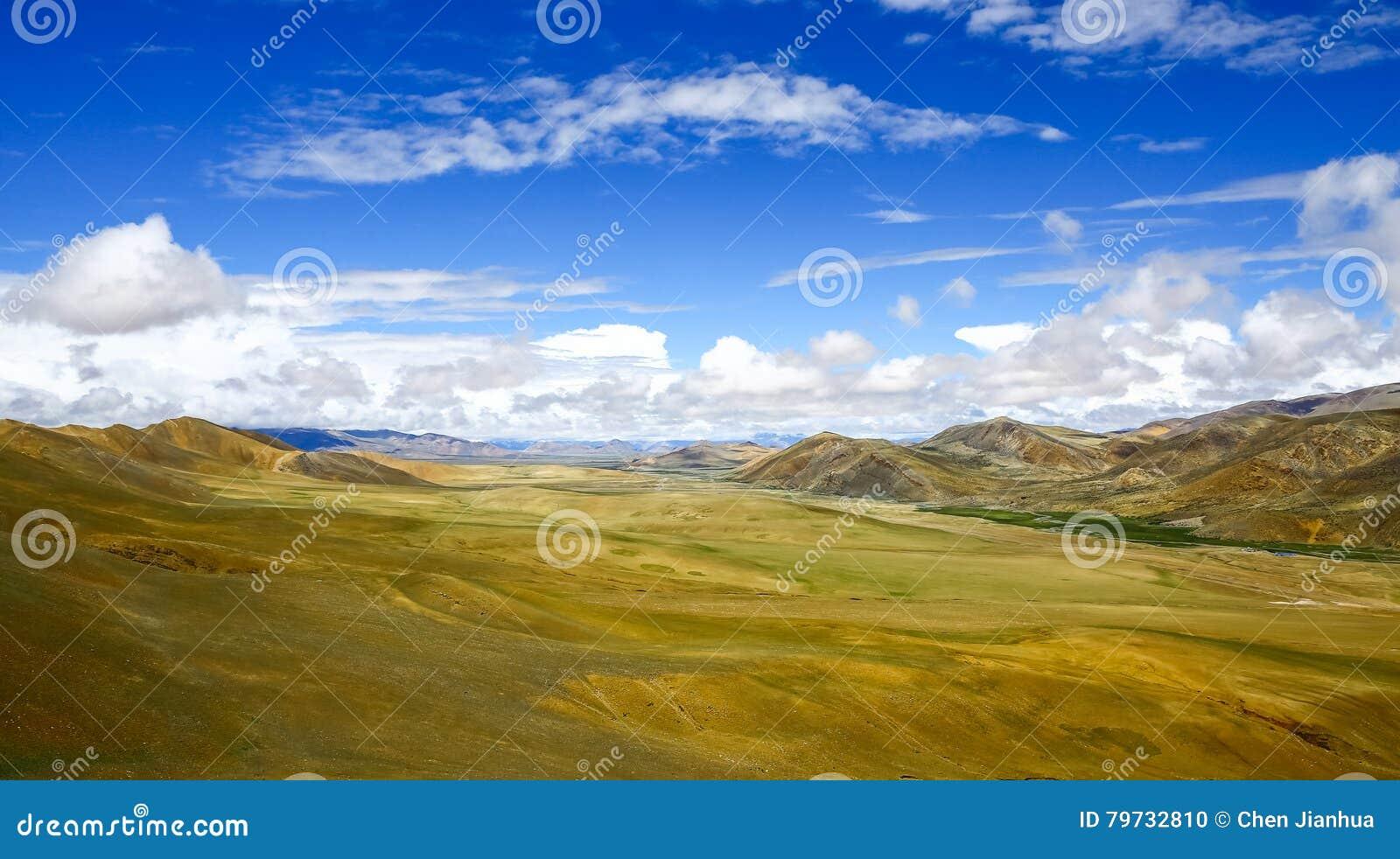 O cenário Himalaia do vale