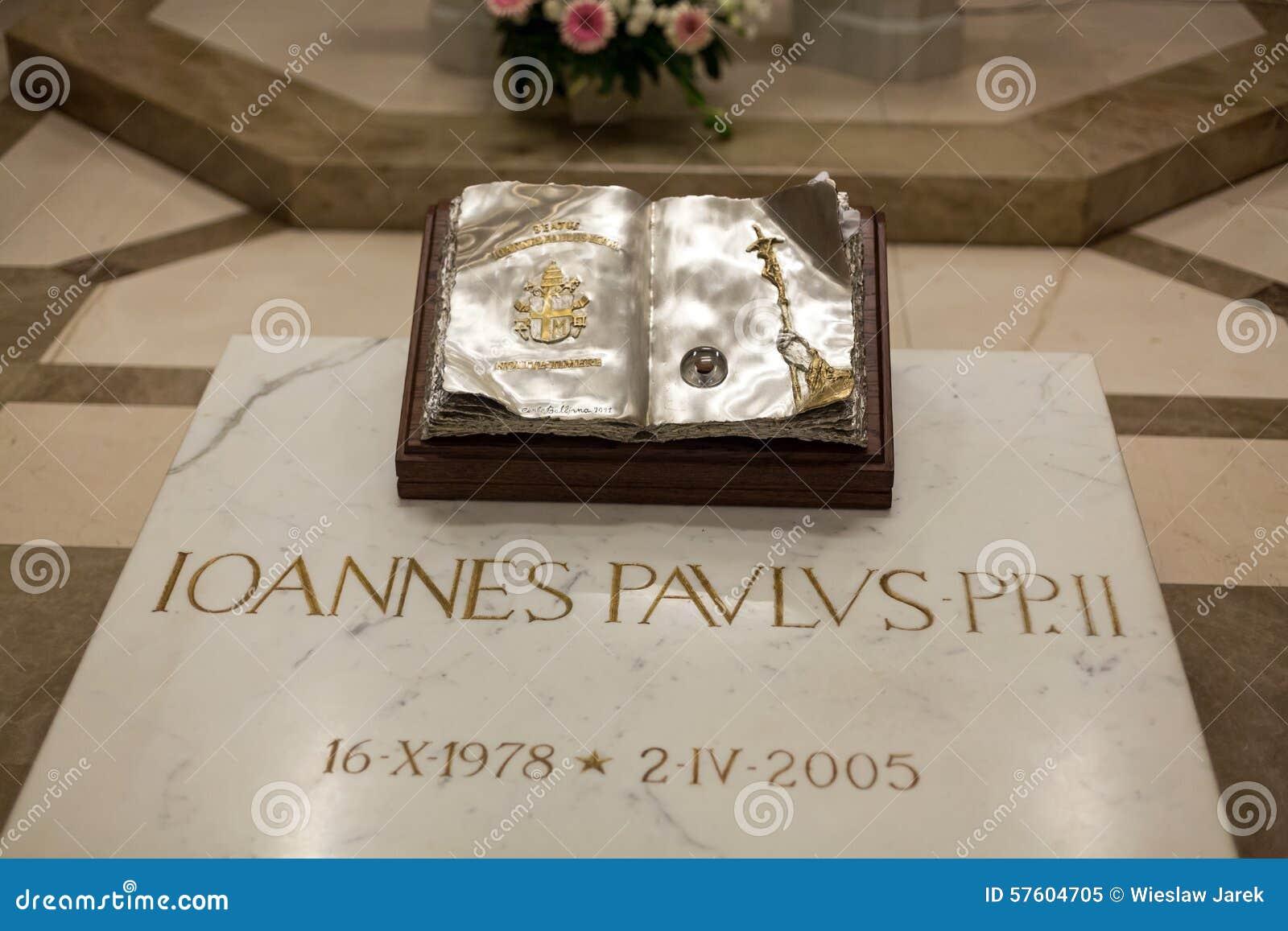 O centro do papa John Paul II