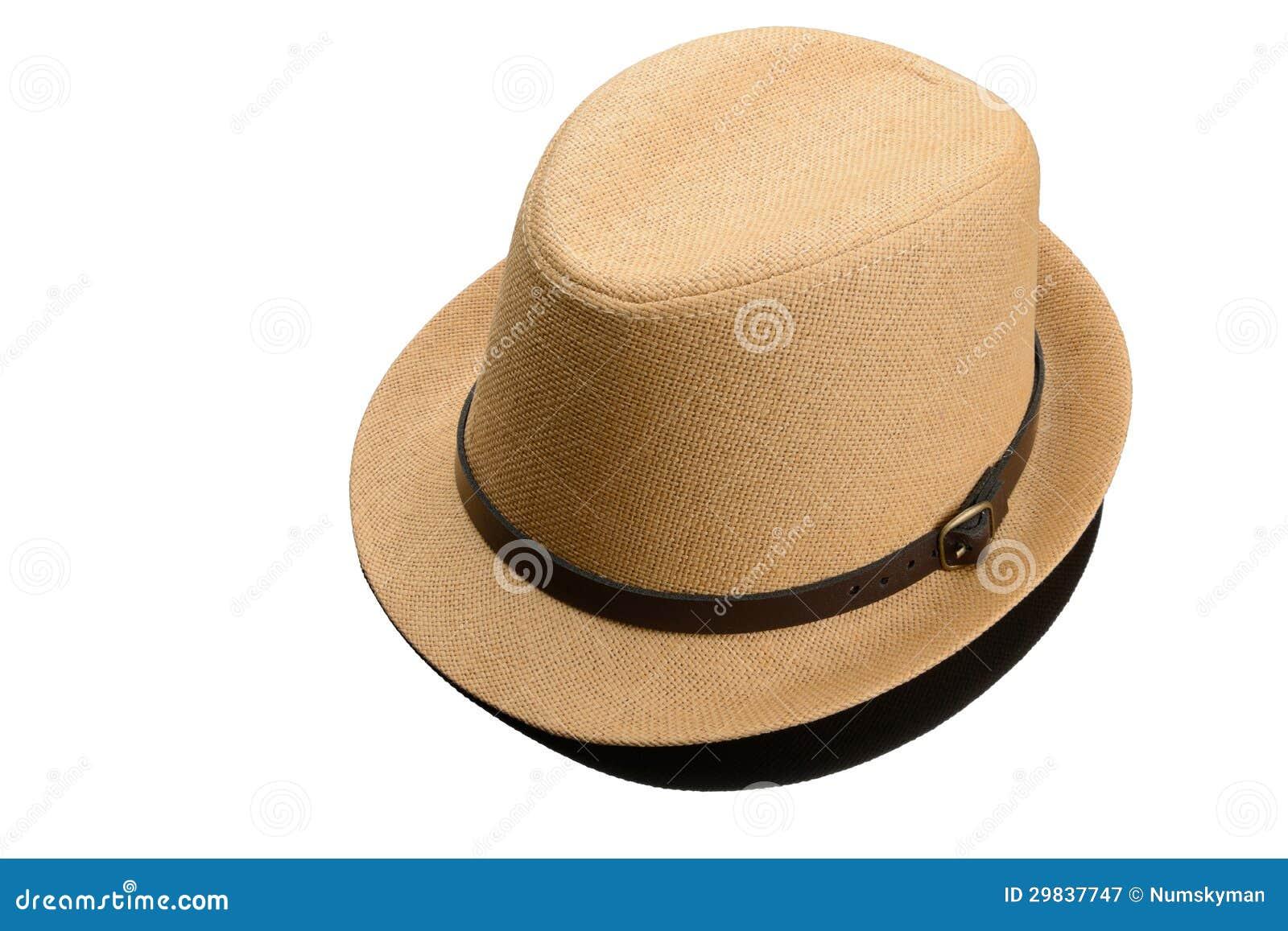 O chapéu dos homens isolado