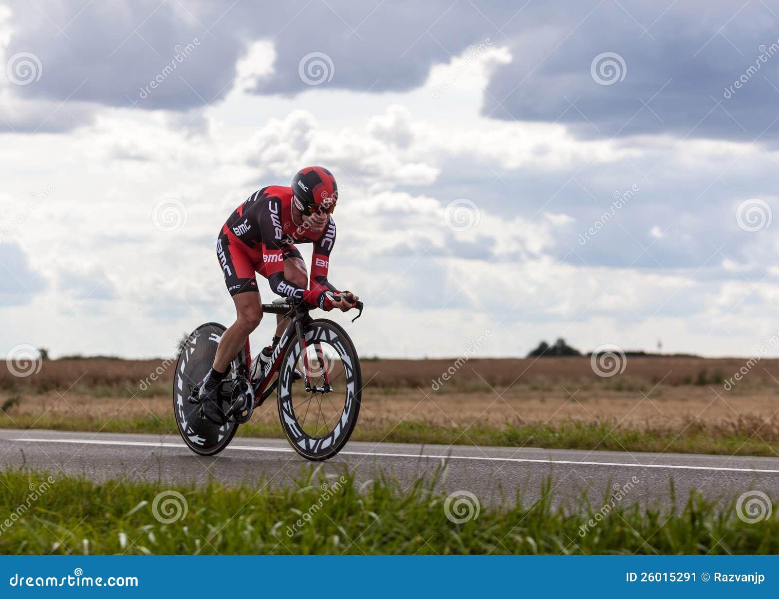 O ciclista australiano Evans Cadel