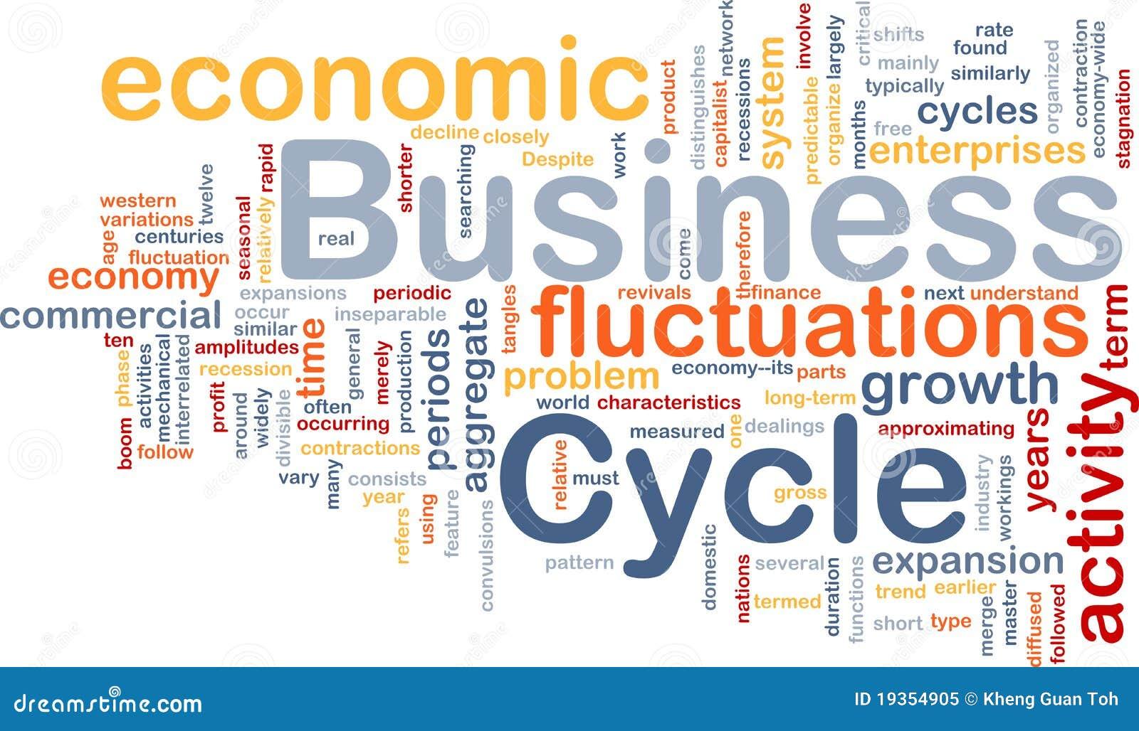 O ciclo de negócio é conceito do fundo do osso