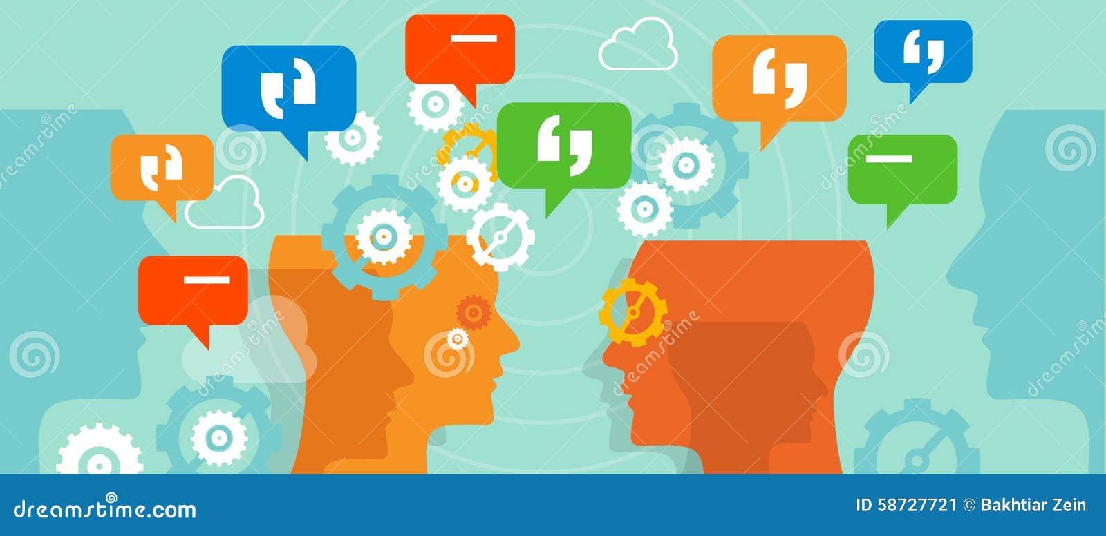 O cliente das queixas fala a conversa da bolha da conversação