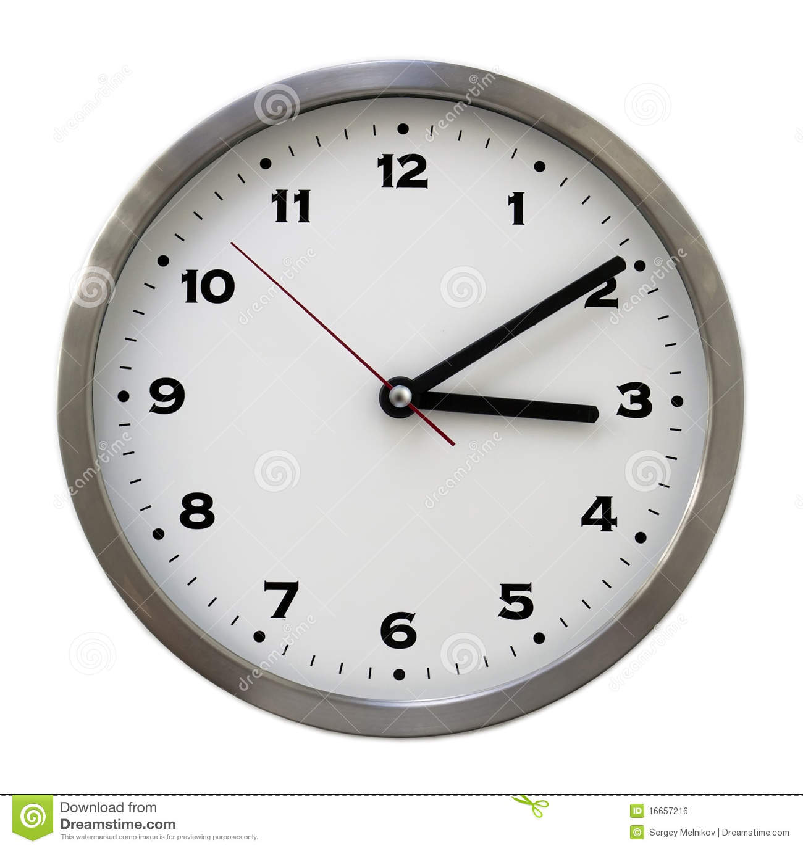 ... o clock