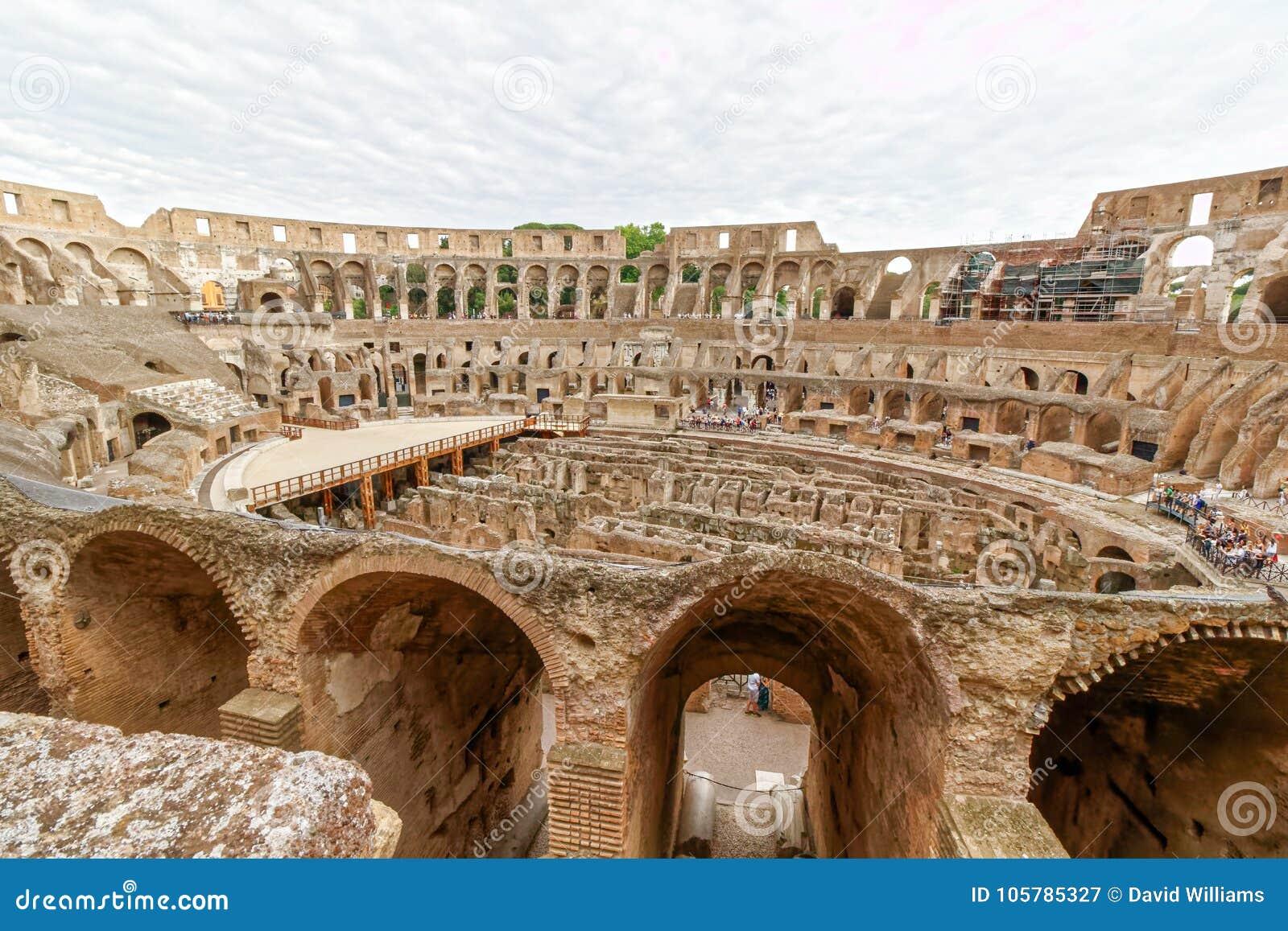 O Colosseum ou o coliseu, Roma