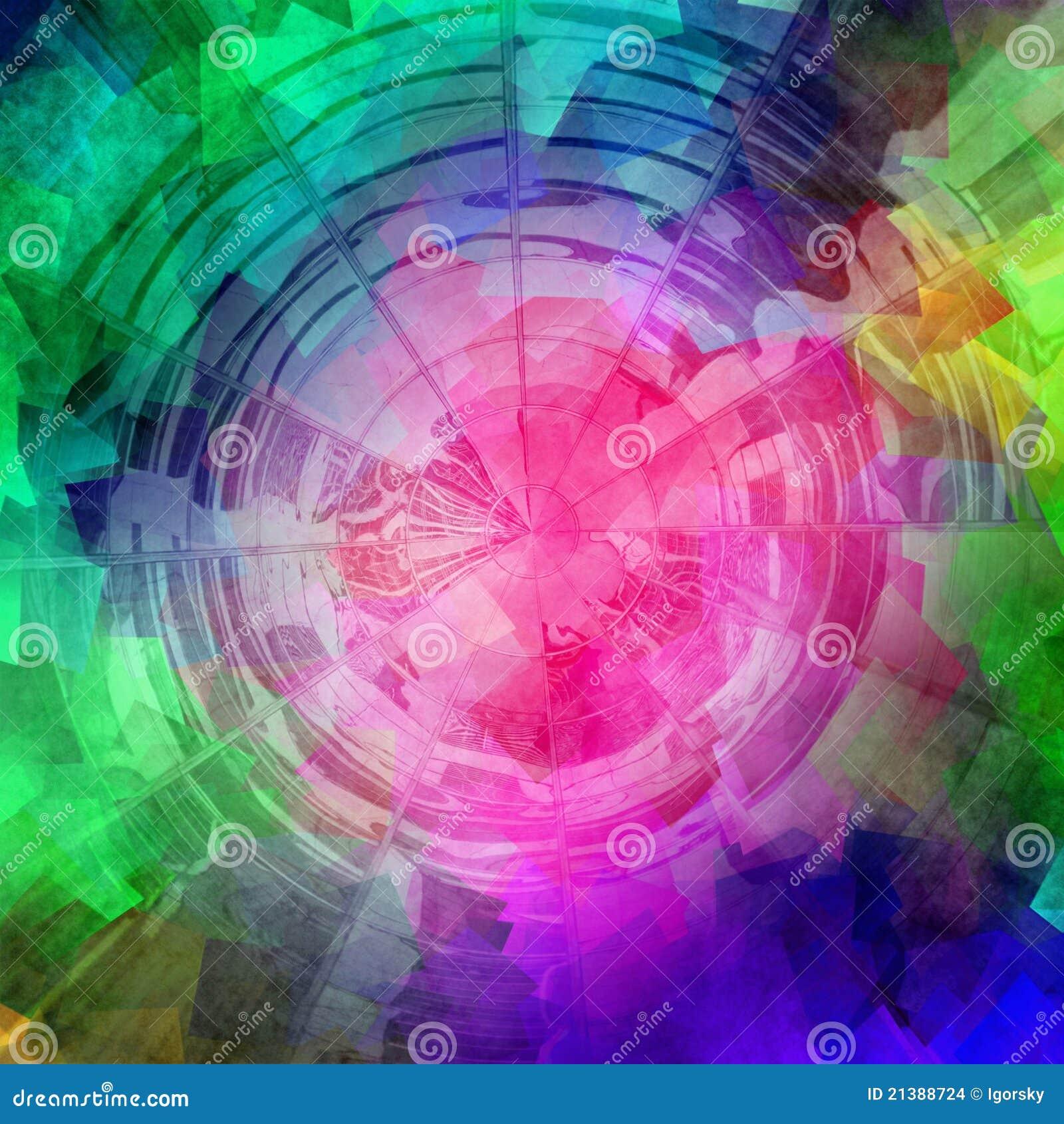 O computador do arco-íris rendeu o sumário,