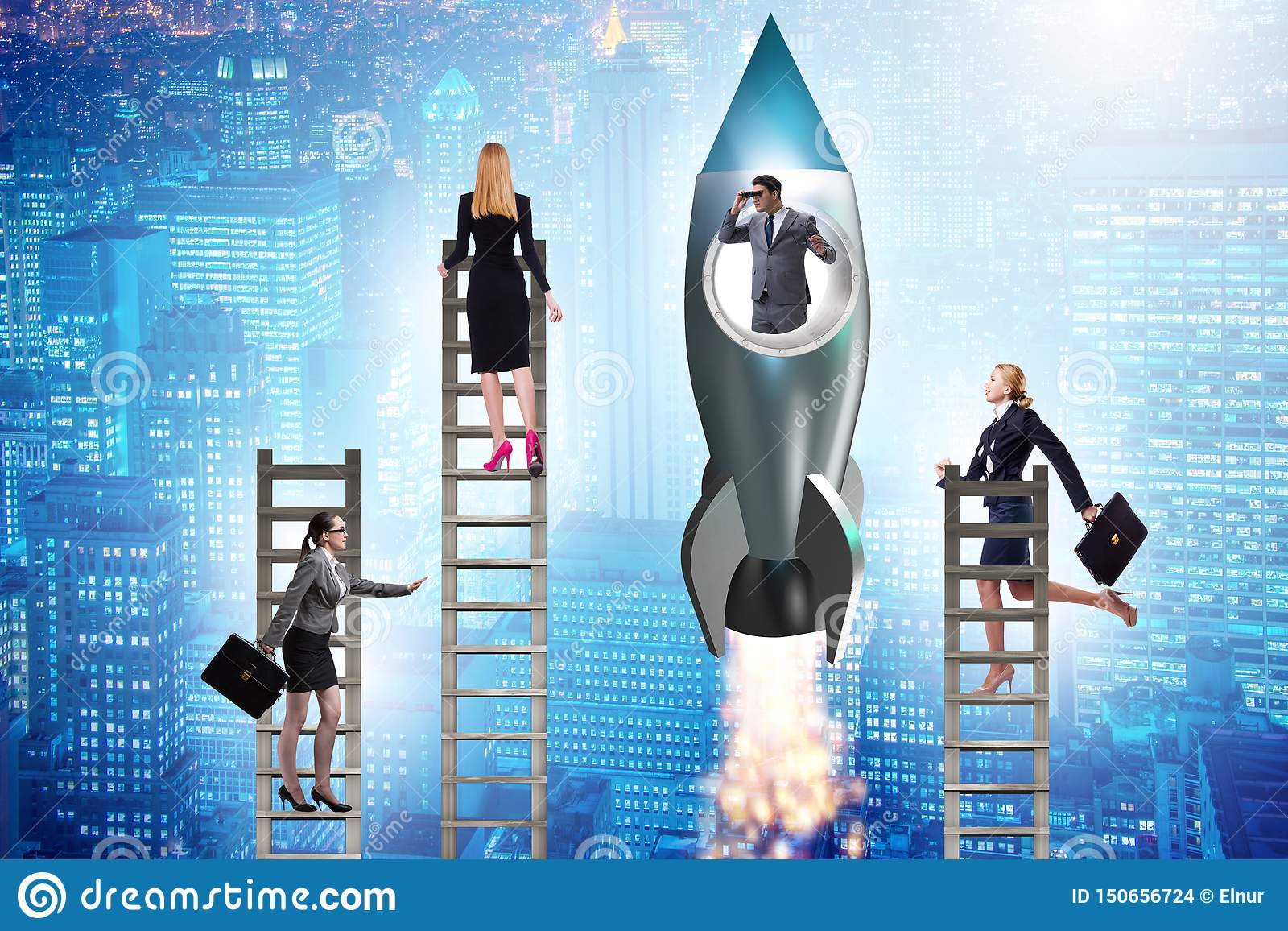 O conceito desigual das oportunidades da carreira para homens e mulheres
