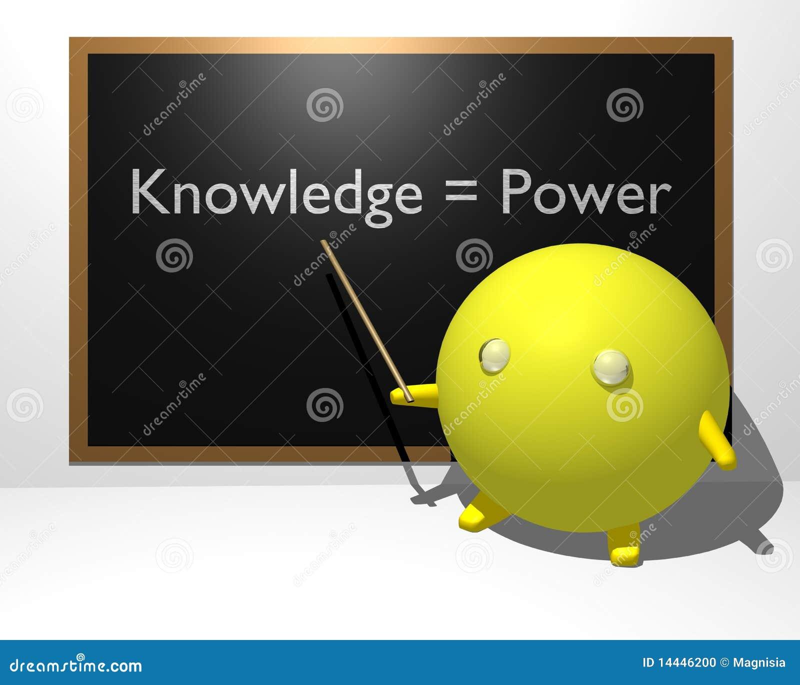 O conhecimento iguala a potência