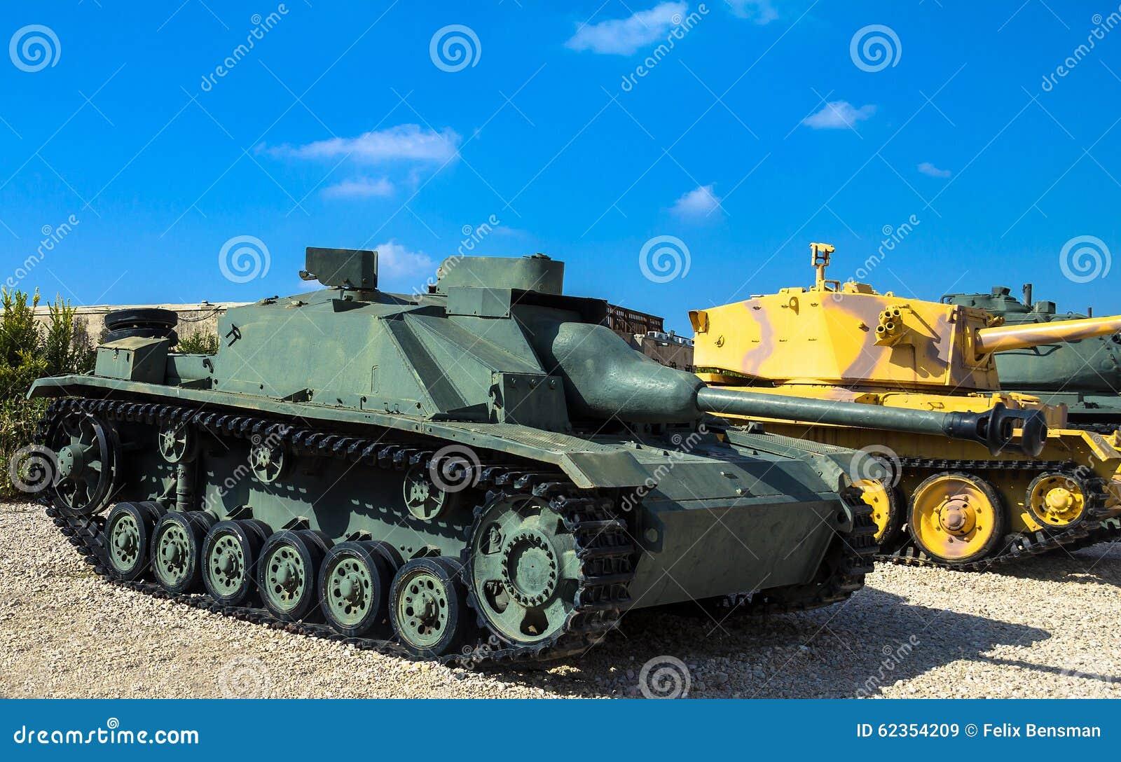 o contratorpedeiro de tanque feito alemão sturmgeschutz iii capturou