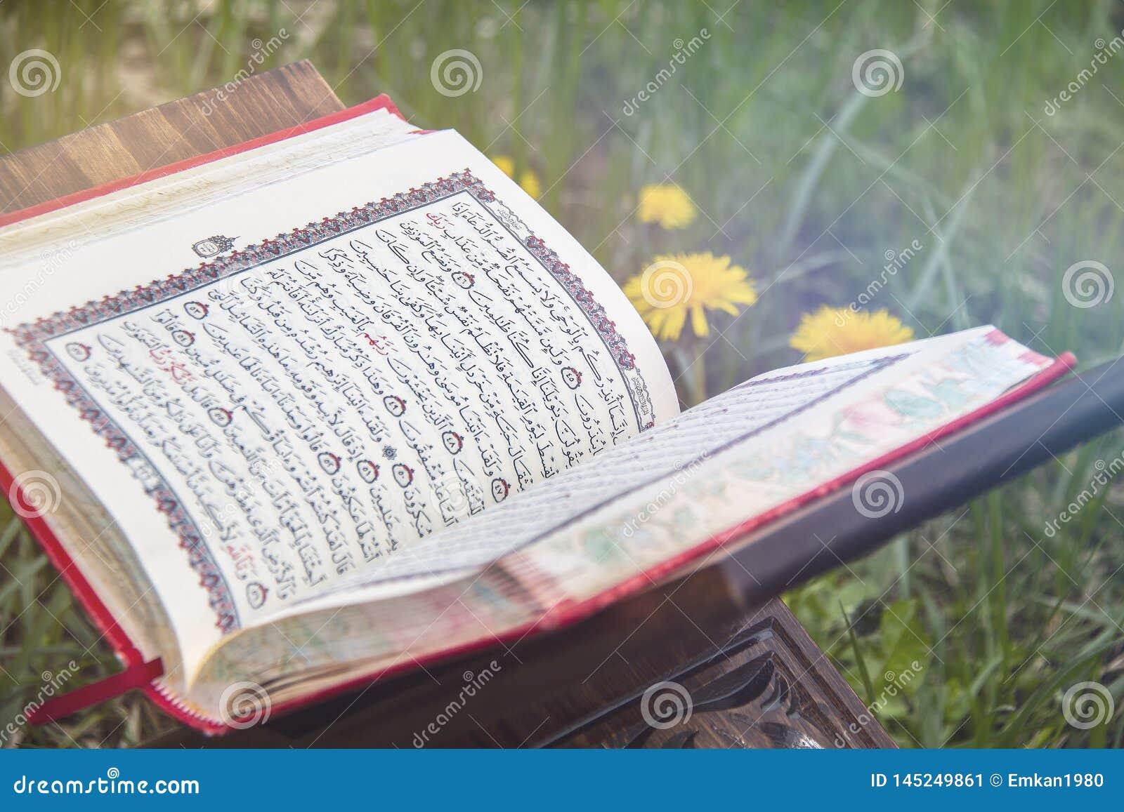 O Cor?o santamente - livro sagrado isl?mico