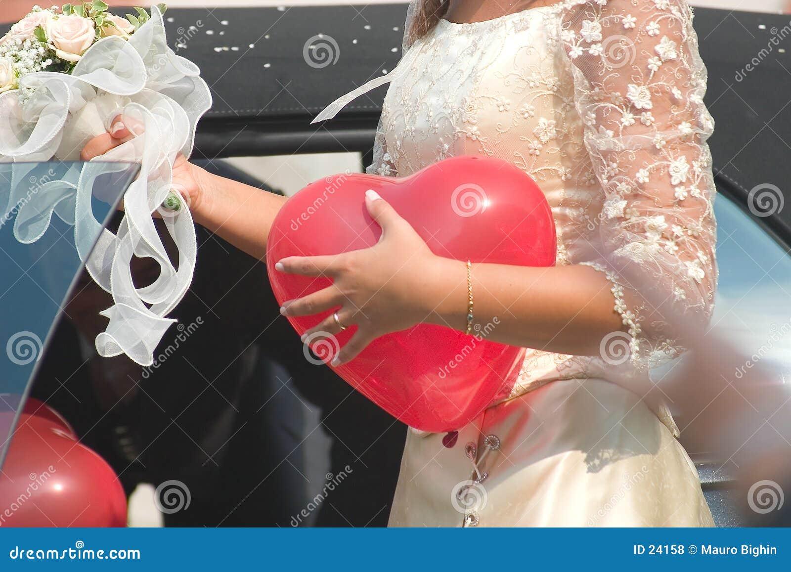 O coração da noiva