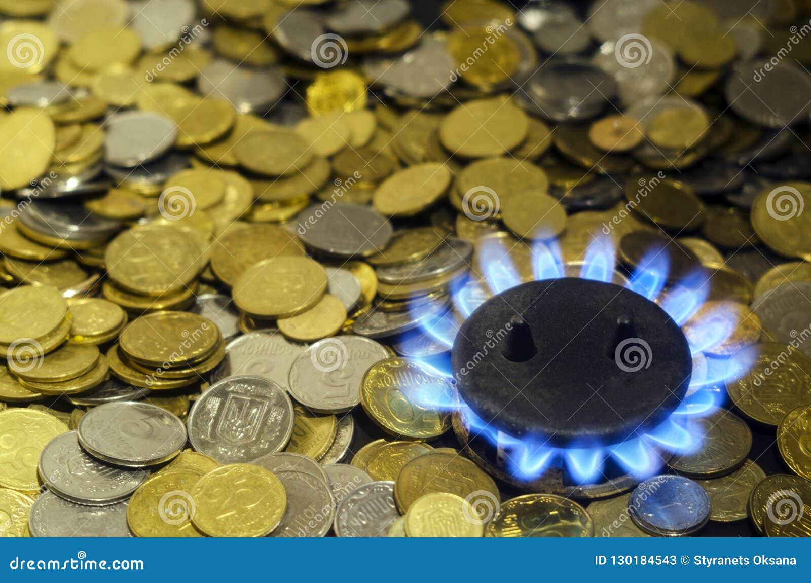 O custo do gás natural mais caro